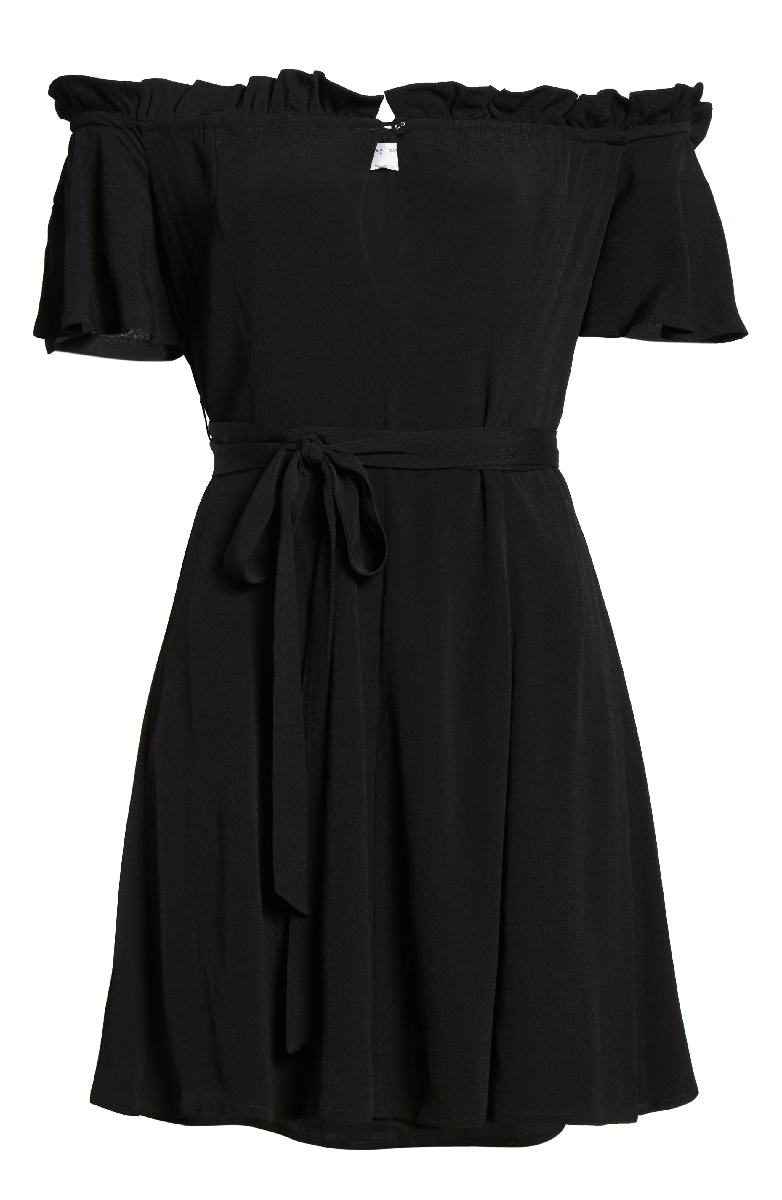 Deluth Off the Shoulder Dress,                             Alternate thumbnail 11, color,