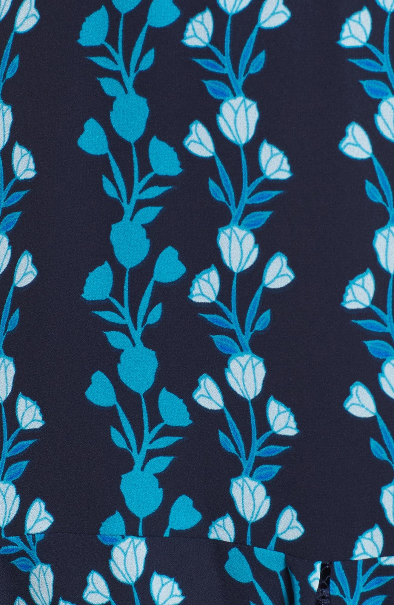 Meadow Vines Lace Dress,                             Alternate thumbnail 5, color,