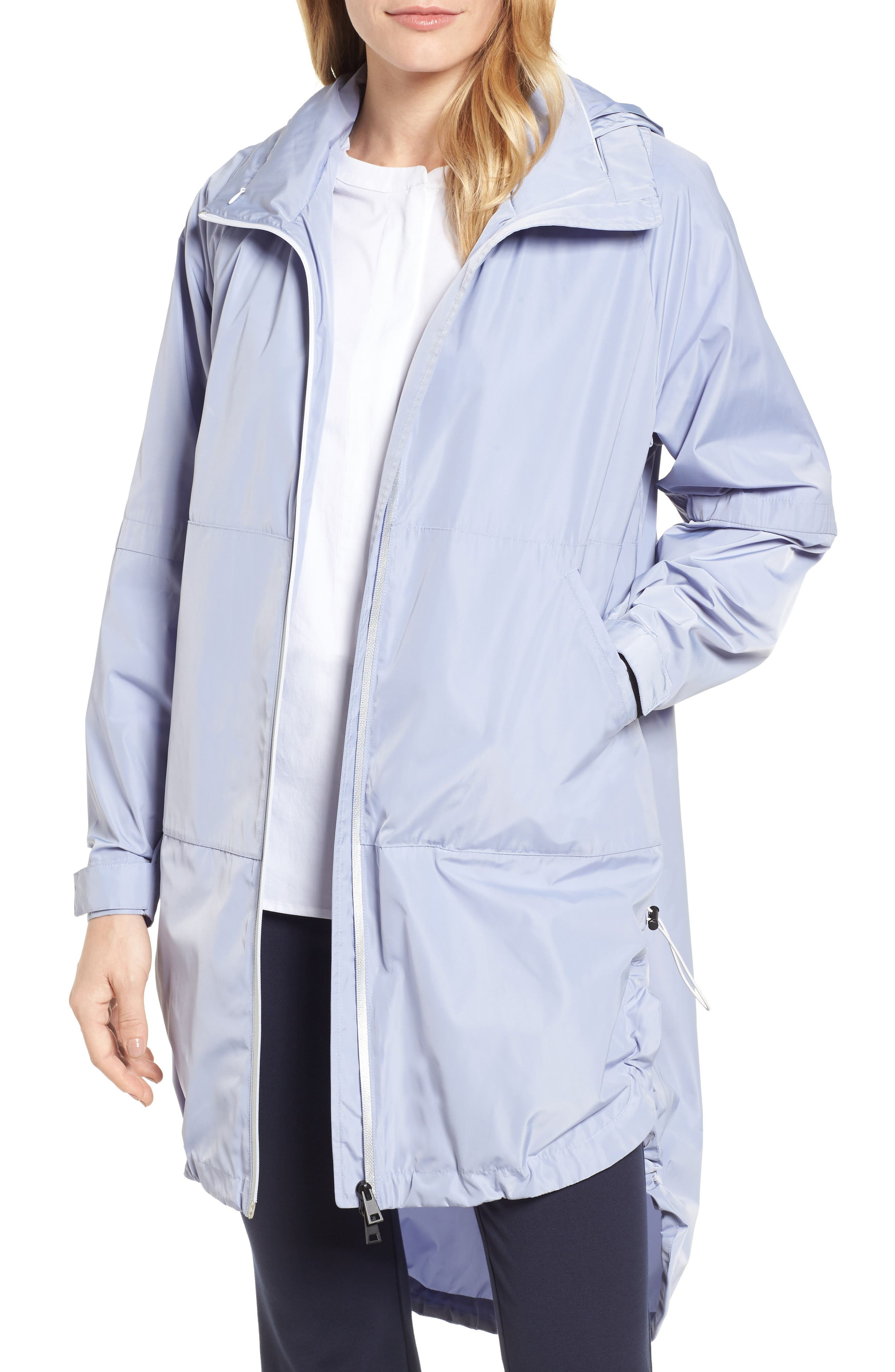 Poly-Luxe Packable Oversize Jacket,                             Main thumbnail 2, color,