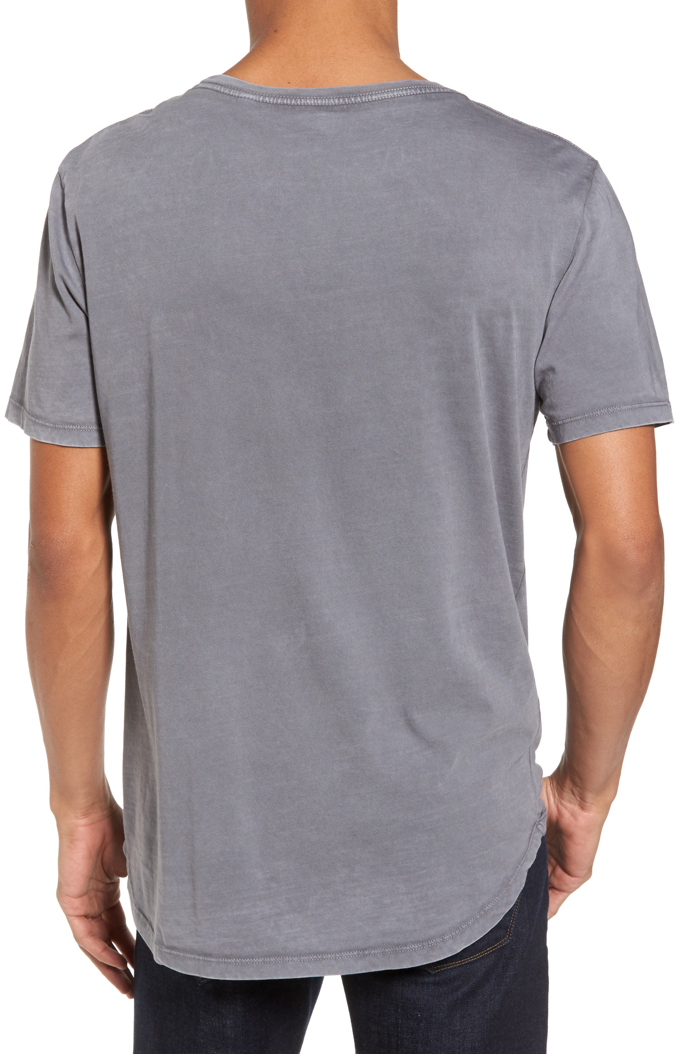 Bradley Longline T-Shirt,                             Alternate thumbnail 2, color,                             091