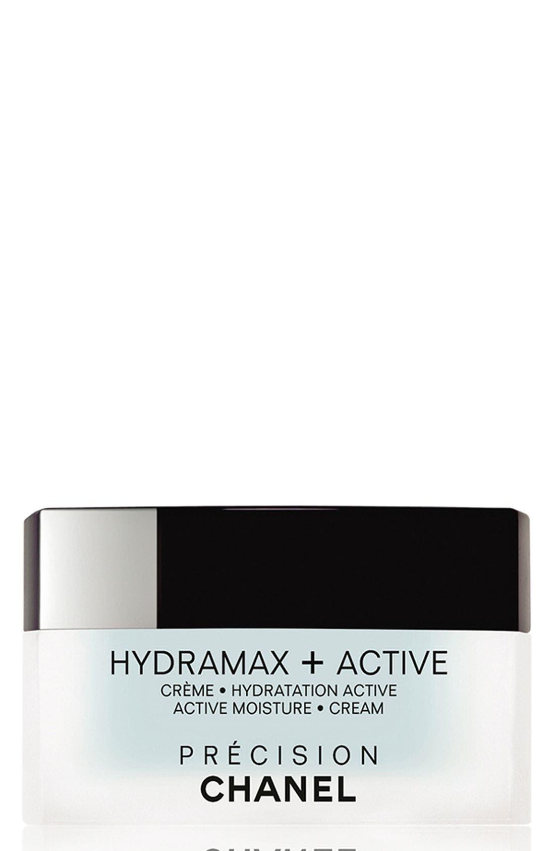 HYDRAMAX + ACTIVE CRÈME HYDRATION ACTIVE ACTIVE MOISTURE CREAM,                             Main thumbnail 1, color,                             000