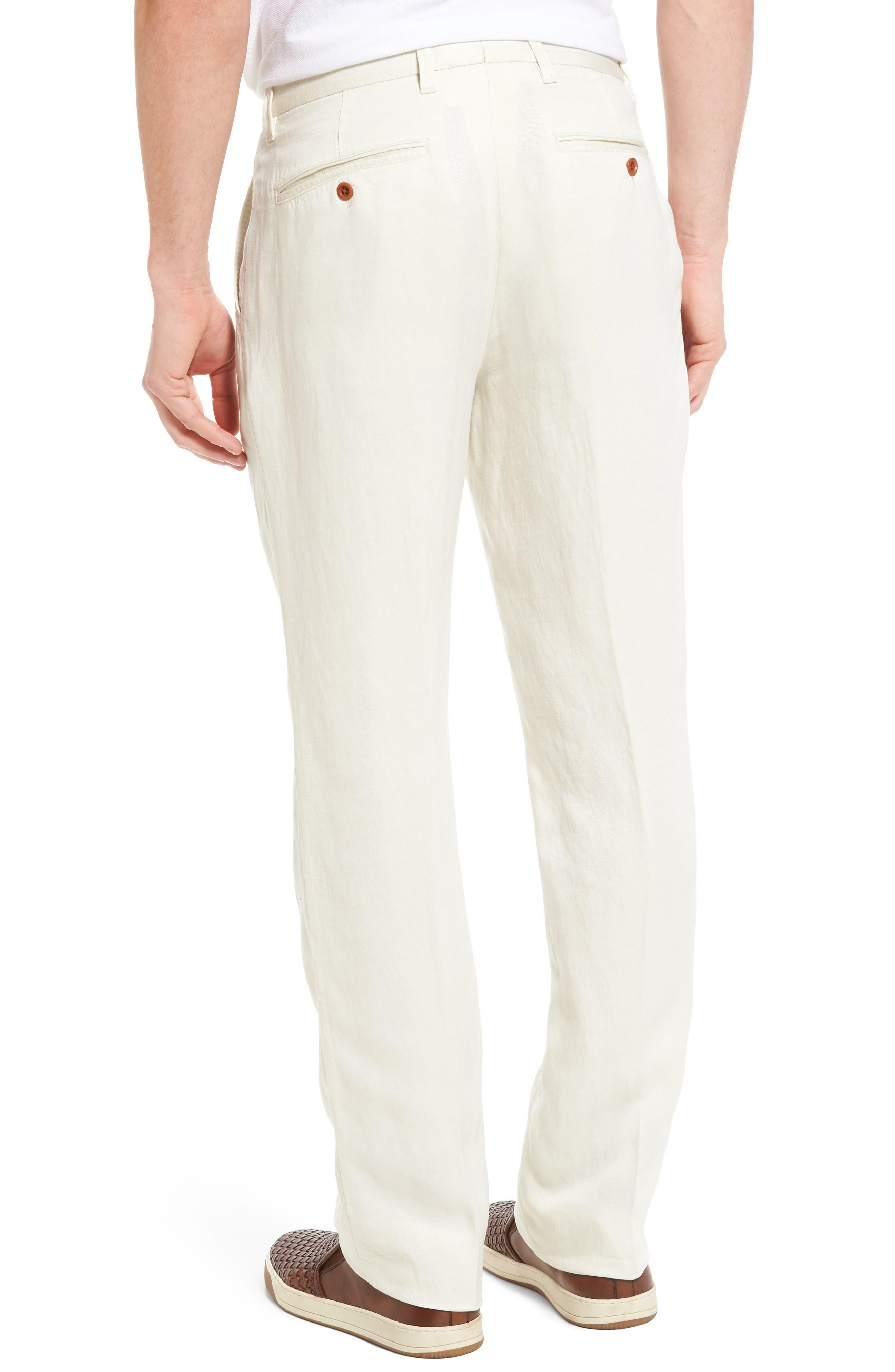 'La Jolla' Flat Front Pants,                             Alternate thumbnail 2, color,                             250