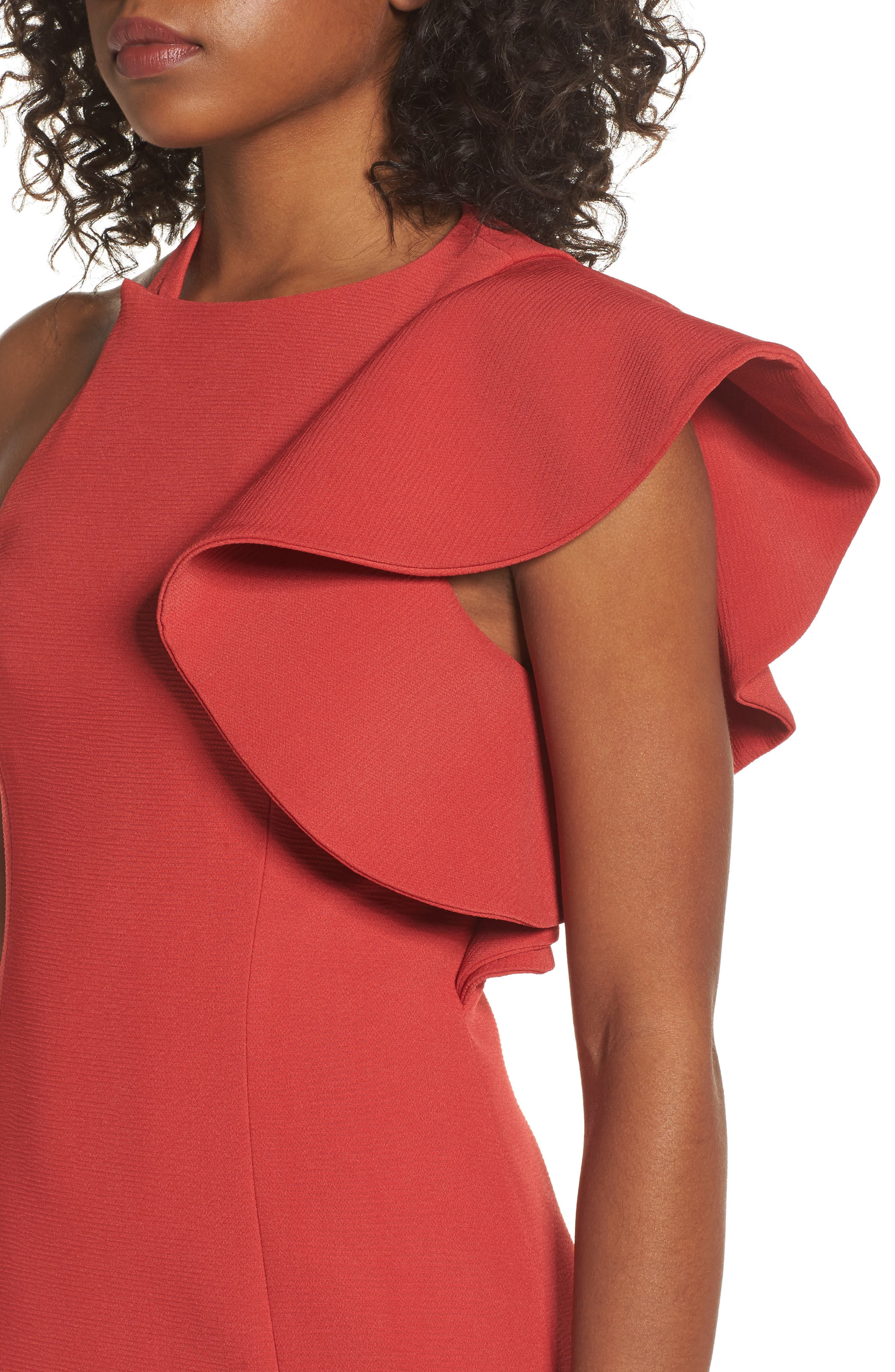 Infinite Asymmetrical Dress,                             Alternate thumbnail 4, color,                             621
