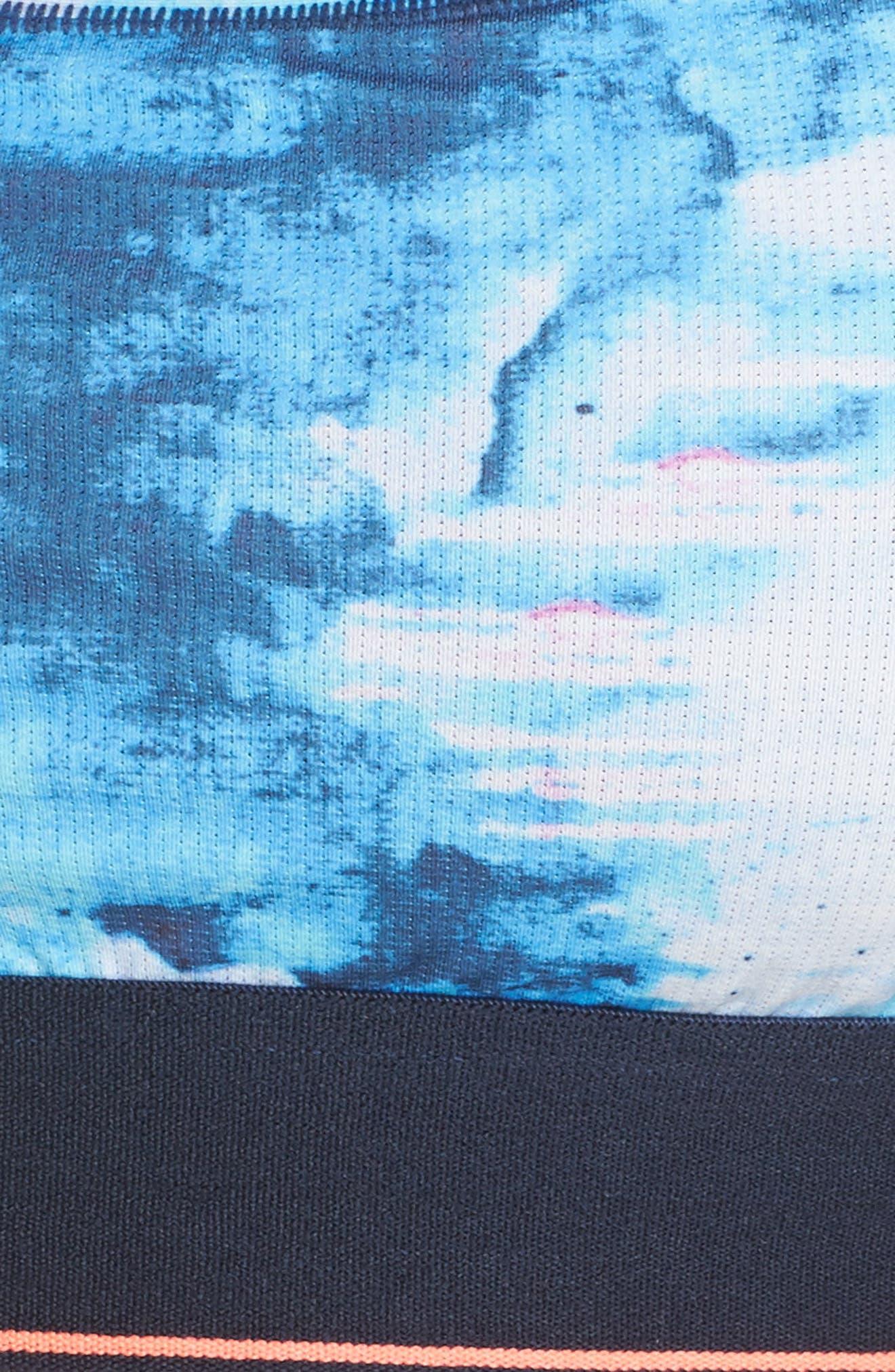 Tropic Storm Tomboy Bralette,                             Alternate thumbnail 6, color,                             410
