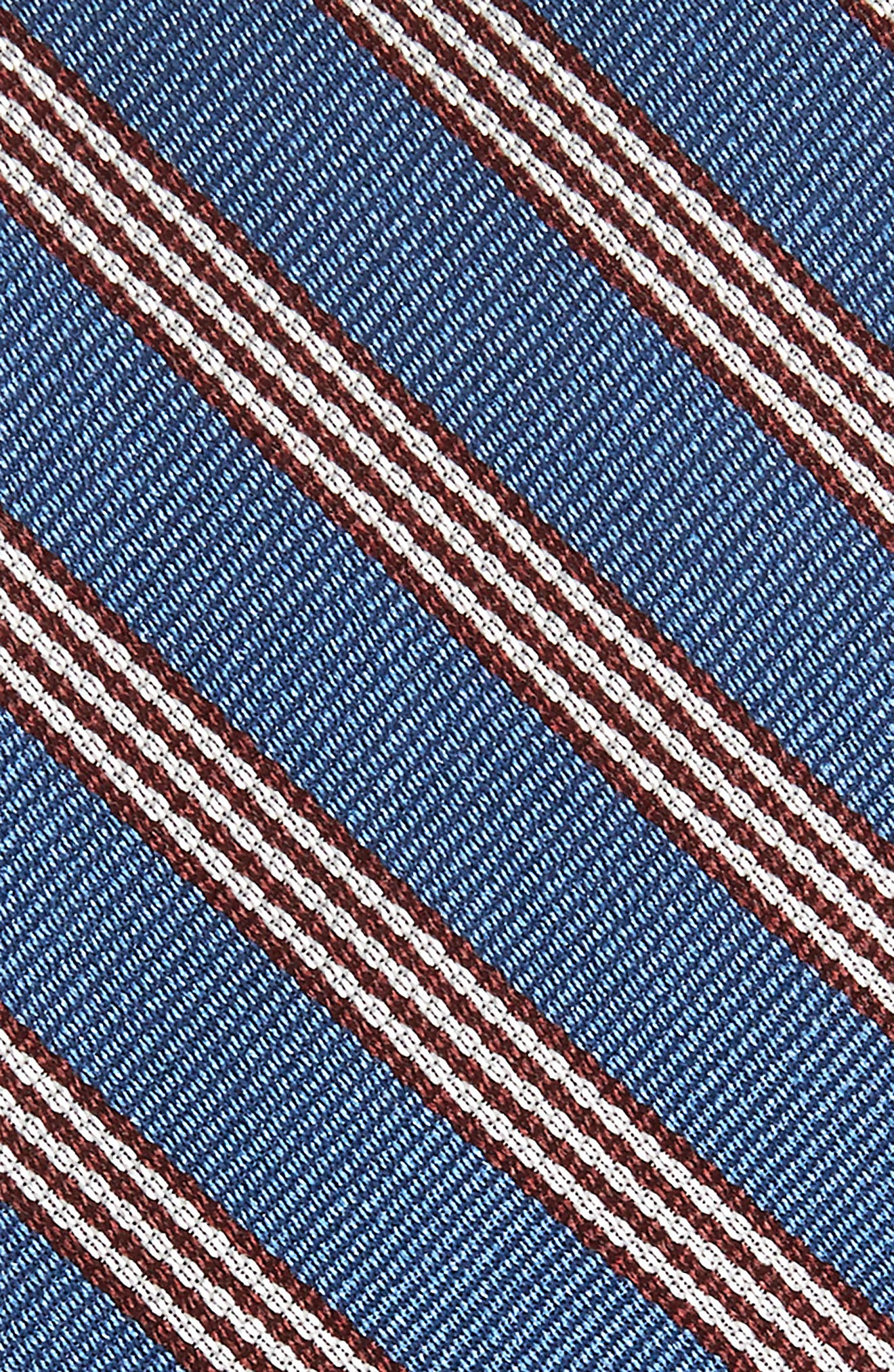 Nevis Stripe Silk Tie,                             Alternate thumbnail 2, color,                             BLUE NEVIS STRIPE