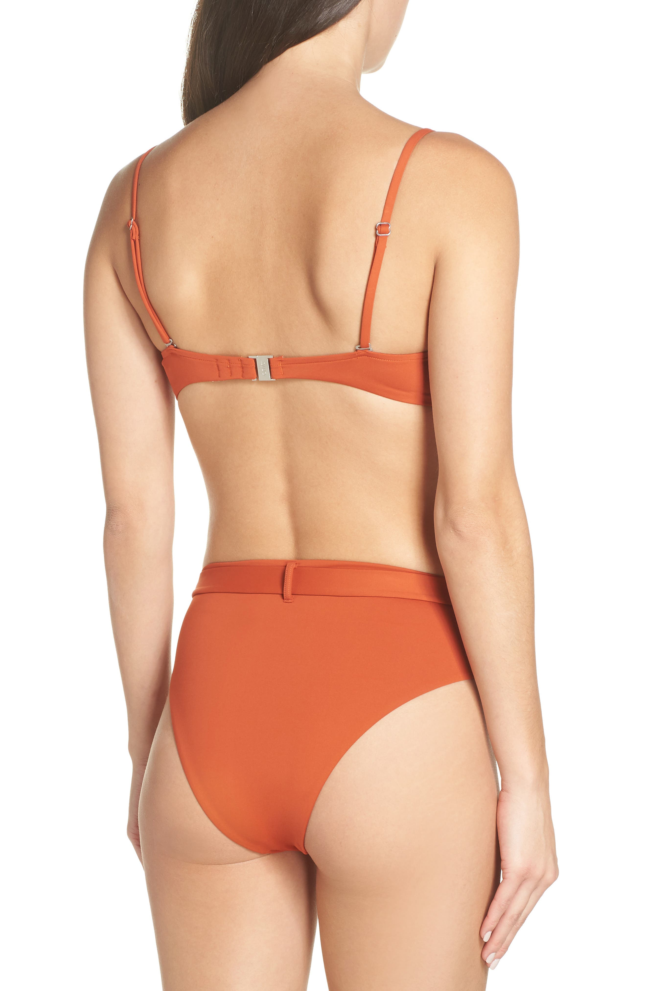 Lydia Underwire Bikini Top,                             Alternate thumbnail 9, color,                             ROOIBOS