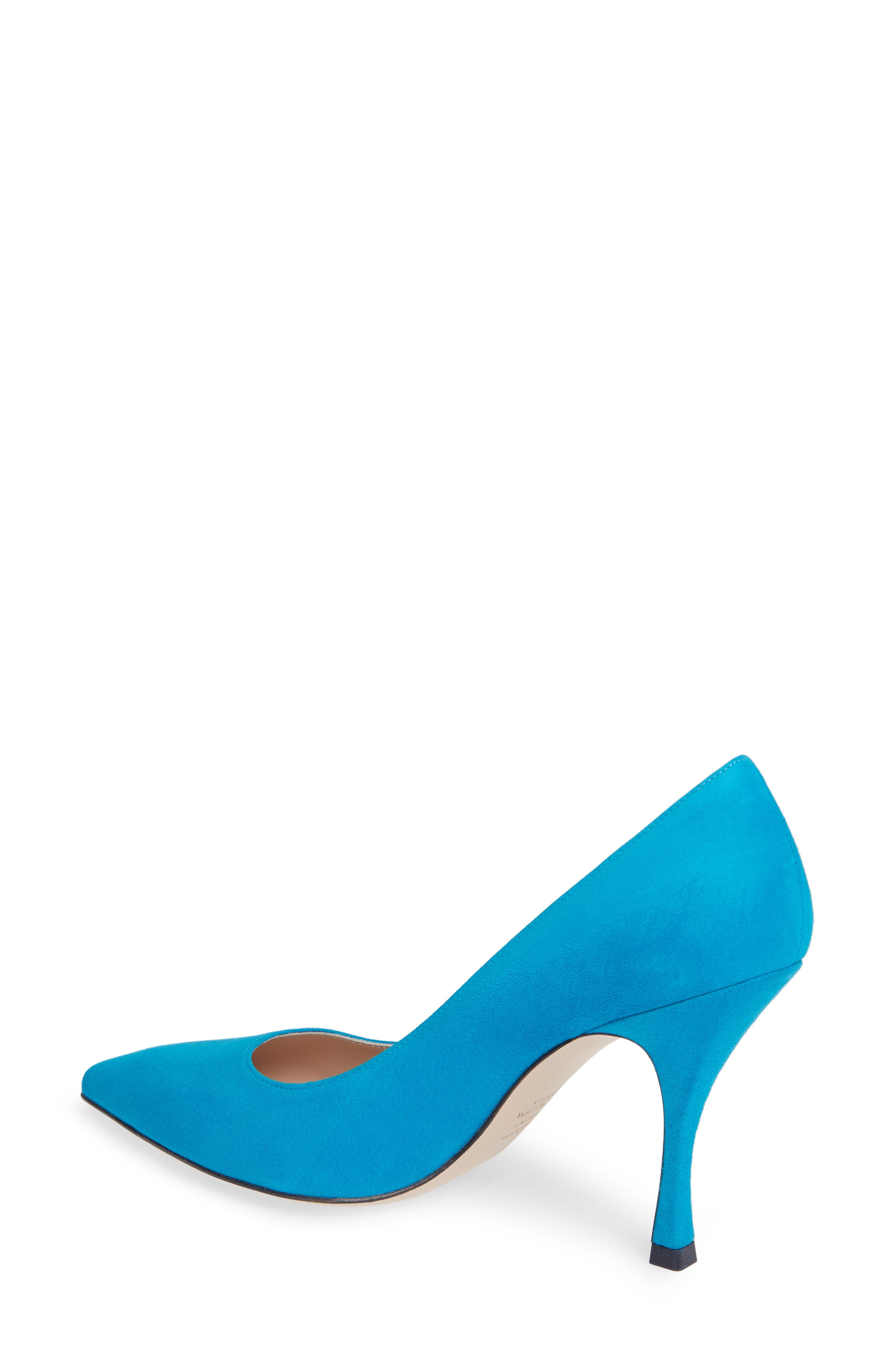 Tippi Pump,                             Alternate thumbnail 2, color,                             OCEANIC SUEDE
