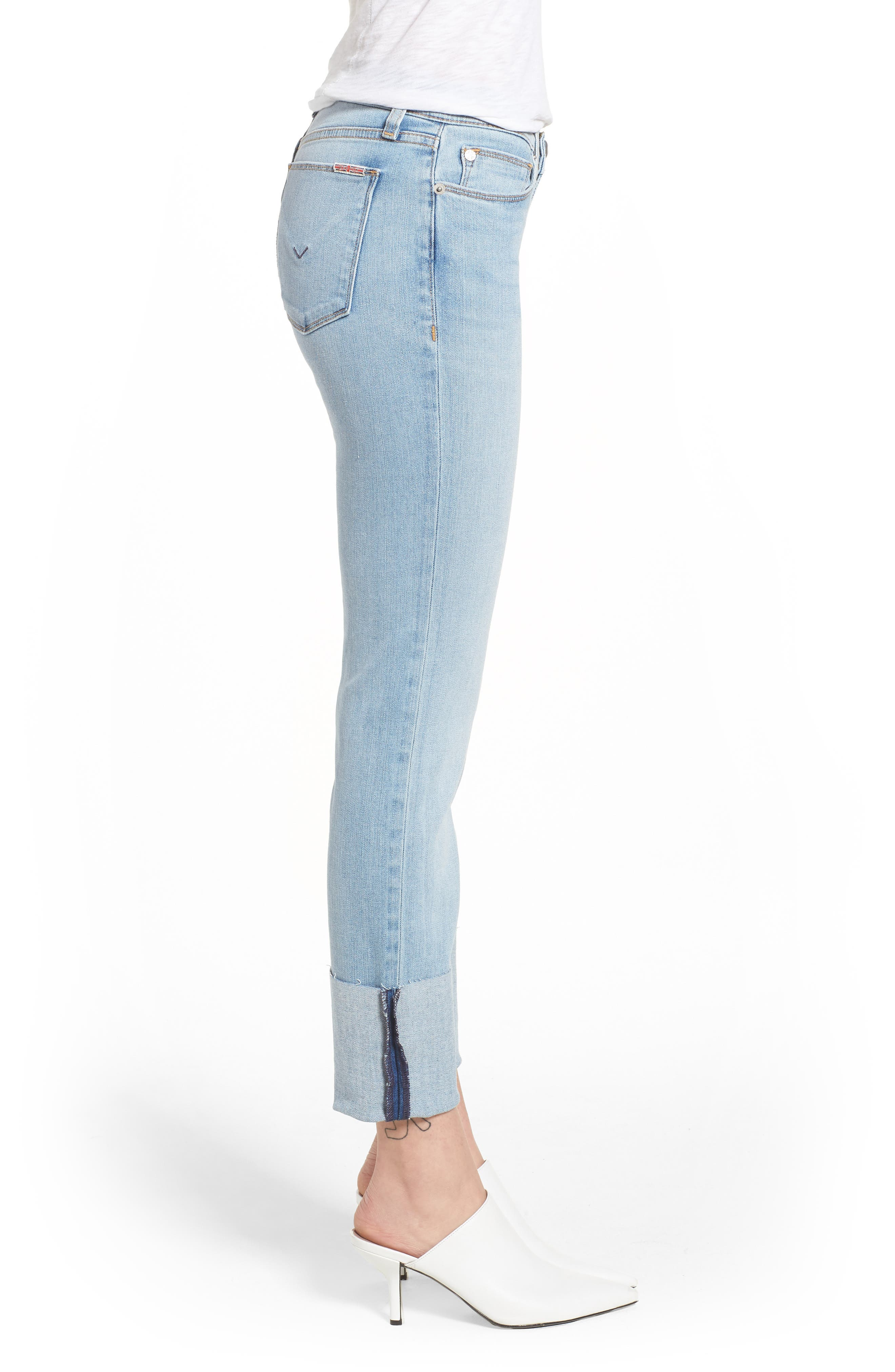 Tally Cuffed Crop Skinny Jeans,                             Alternate thumbnail 10, color,
