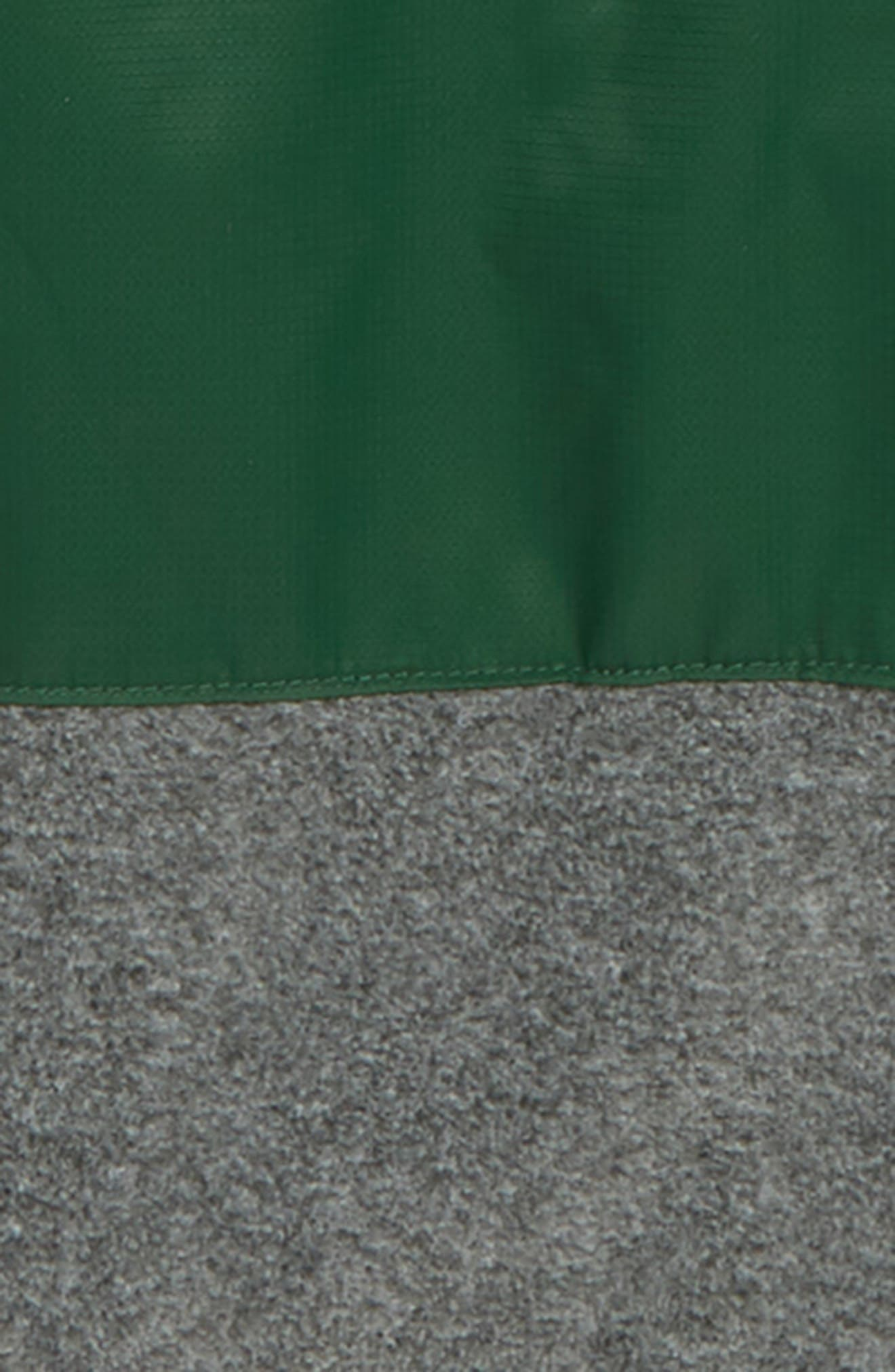 Mountain Side<sup>™</sup> Fleece Jacket,                             Alternate thumbnail 3, color,                             FOREST GRILL HEATHER