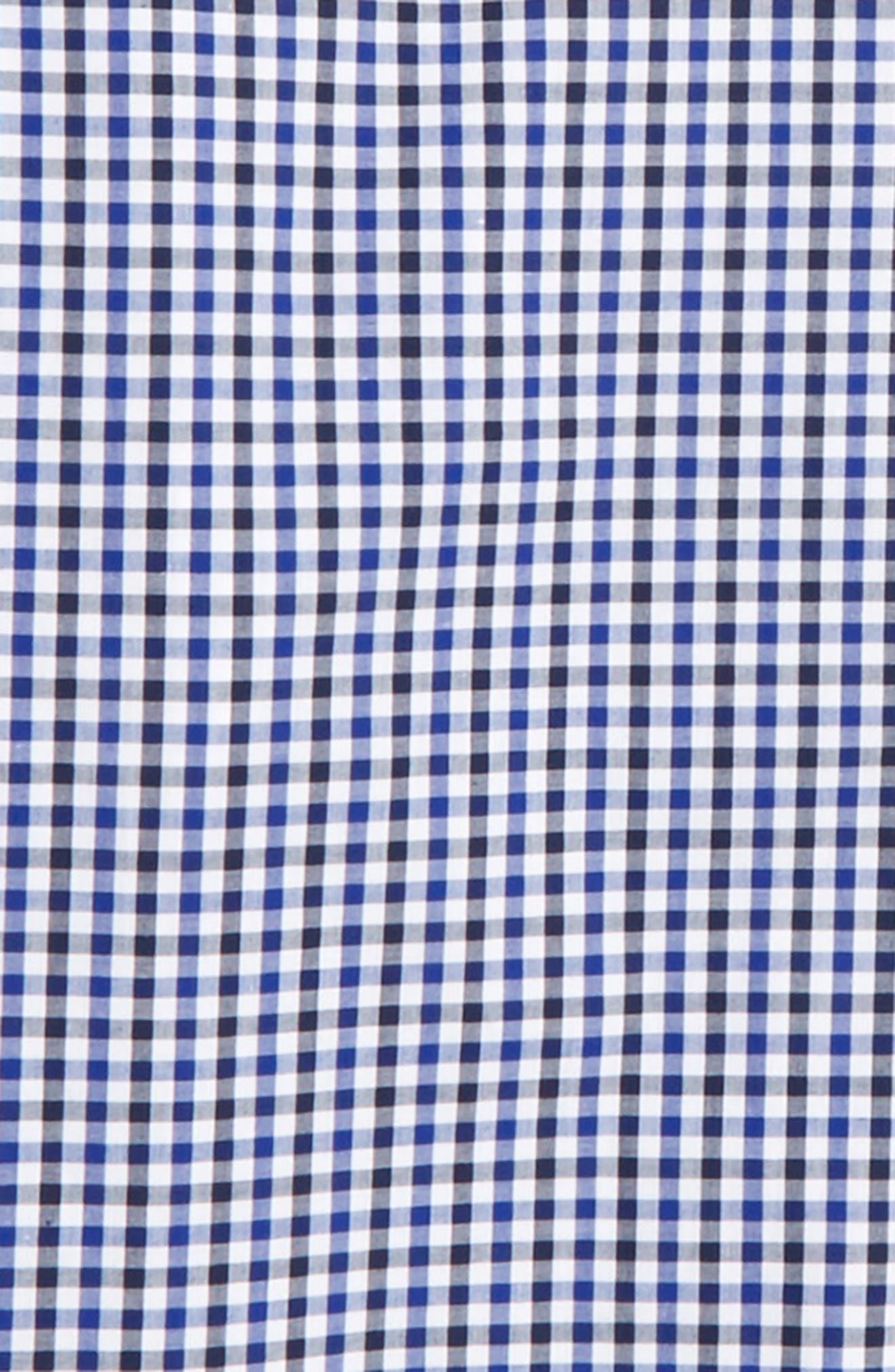 Neat Check Dress Shirt,                             Alternate thumbnail 2, color,