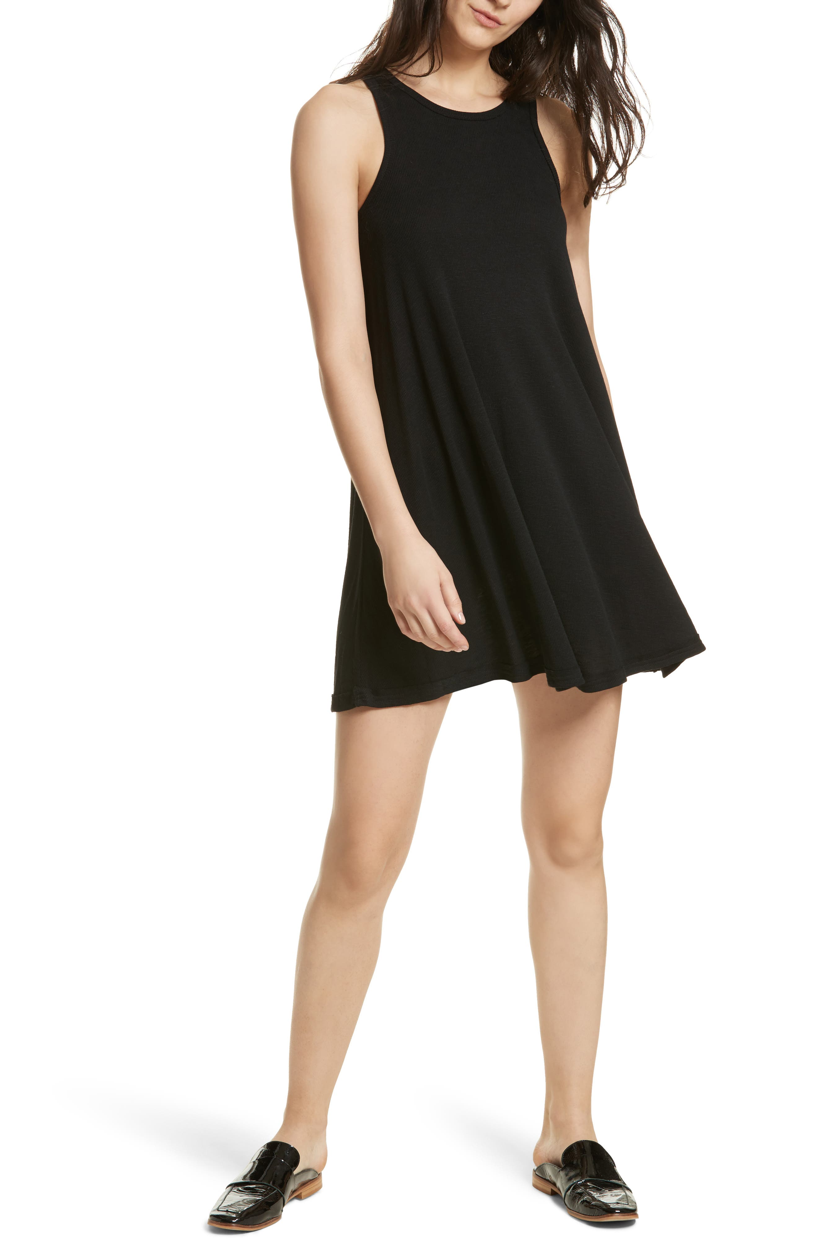 LA Nite Tank Dress,                             Main thumbnail 1, color,                             001