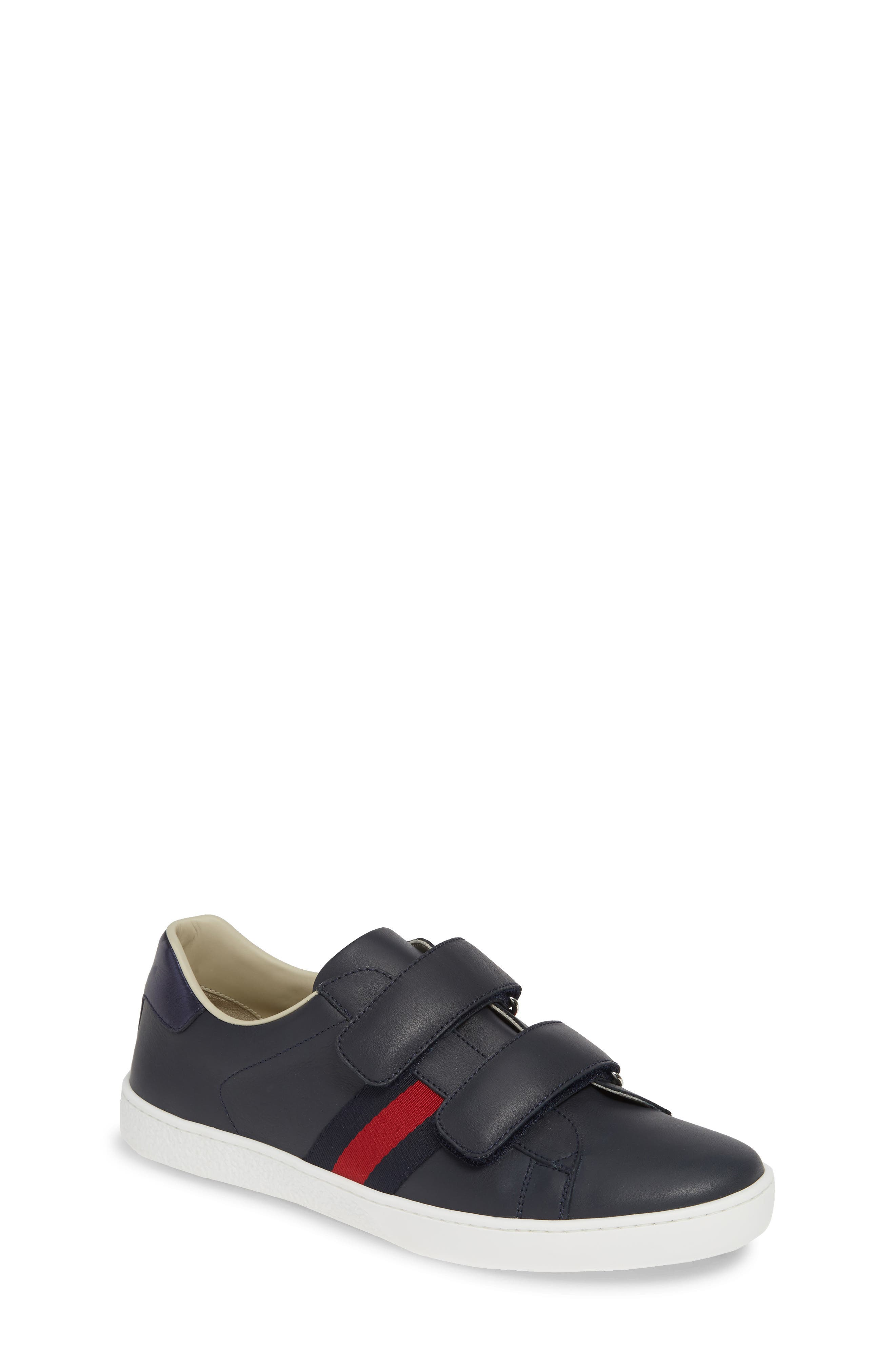 Toddler Gucci New Ace Sneaker Size 25US  34EU  Blue