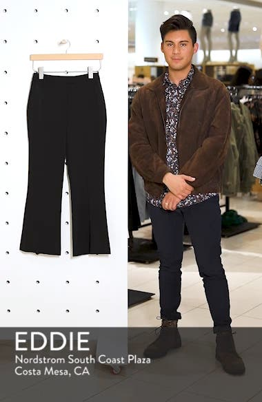 Slim Kick Flare Trousers, sales video thumbnail