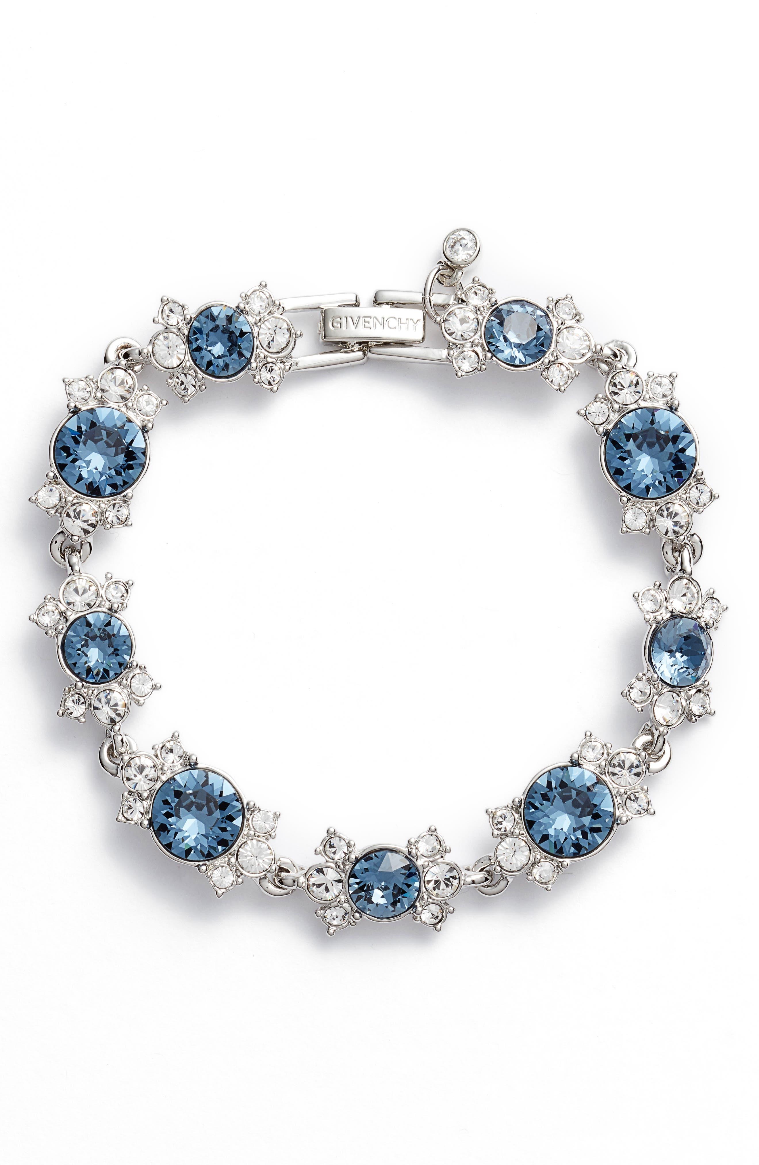 Crystal Bracelet,                         Main,                         color, 040