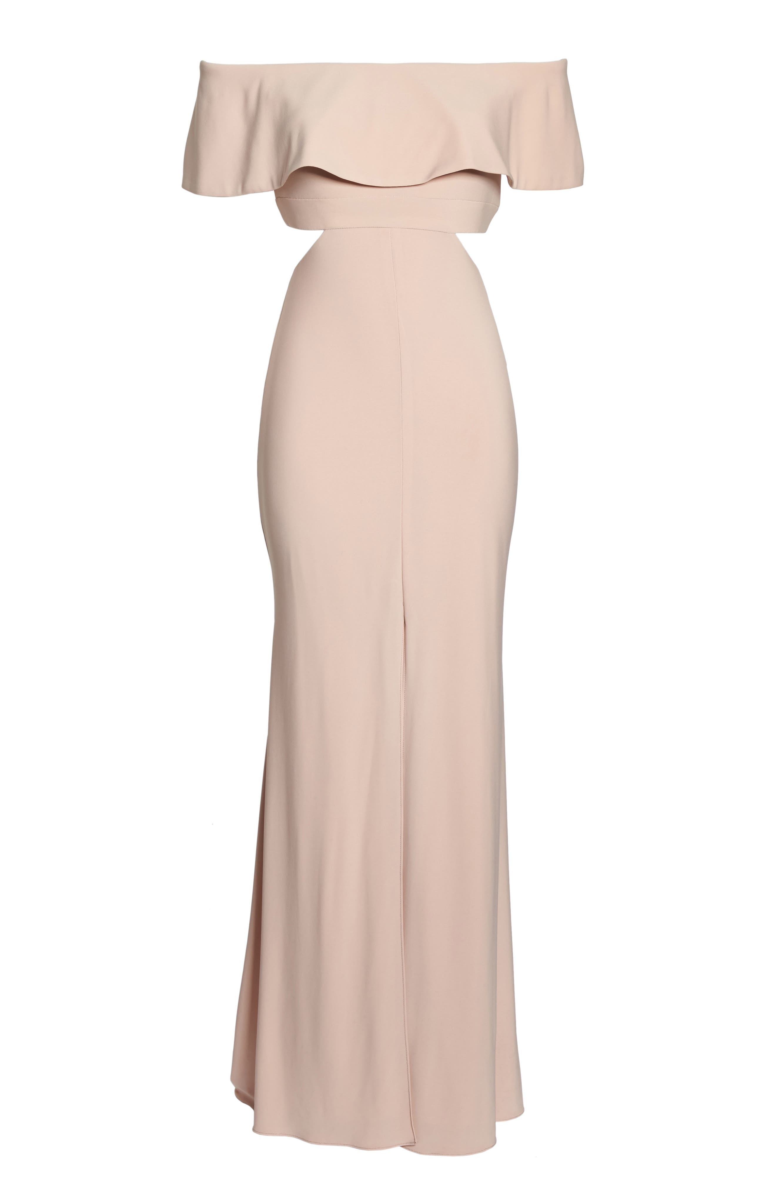 Jersey Popover Gown,                             Alternate thumbnail 6, color,                             682