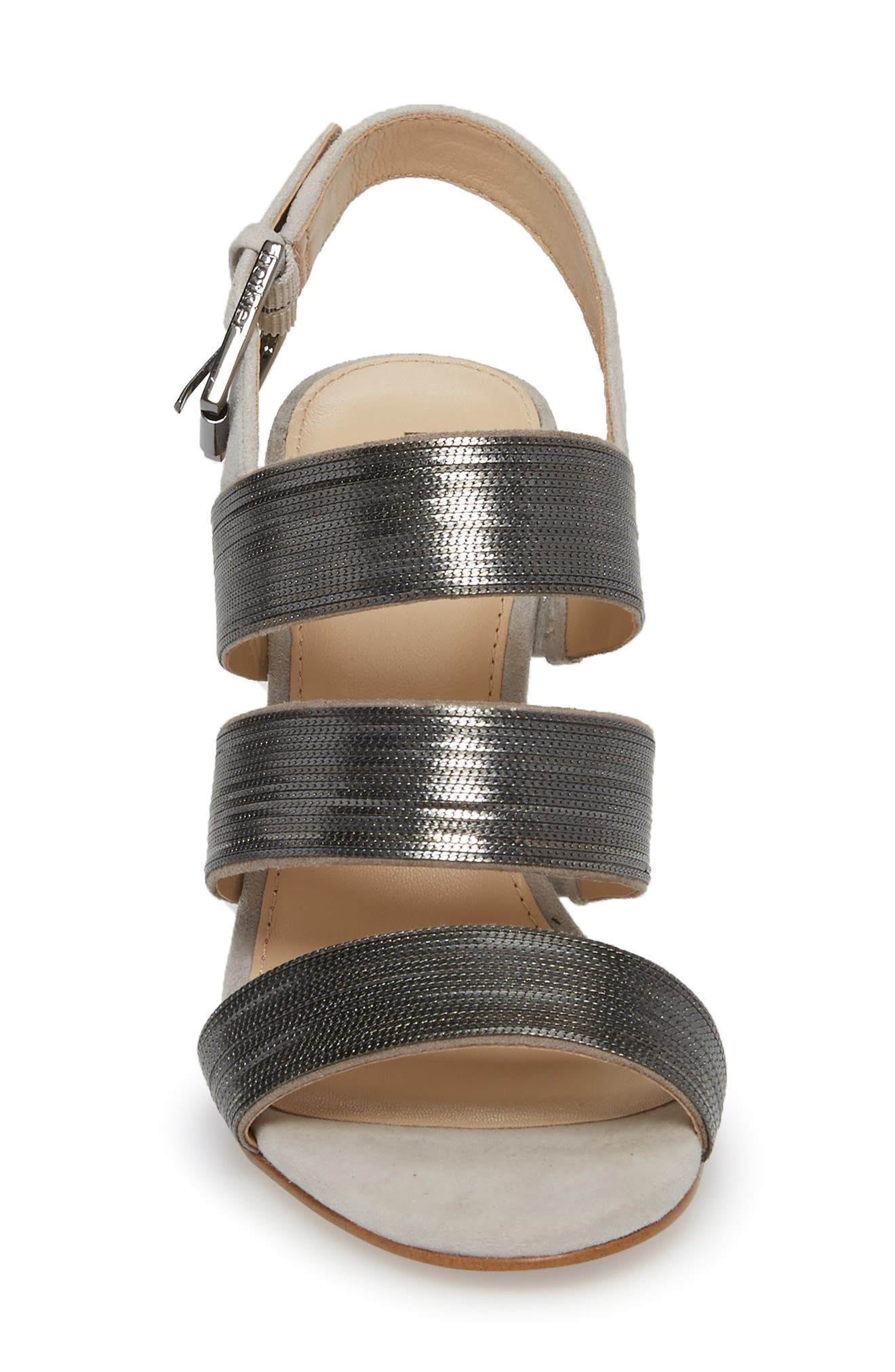 Genesa Chain Slingback Sandal,                             Alternate thumbnail 8, color,