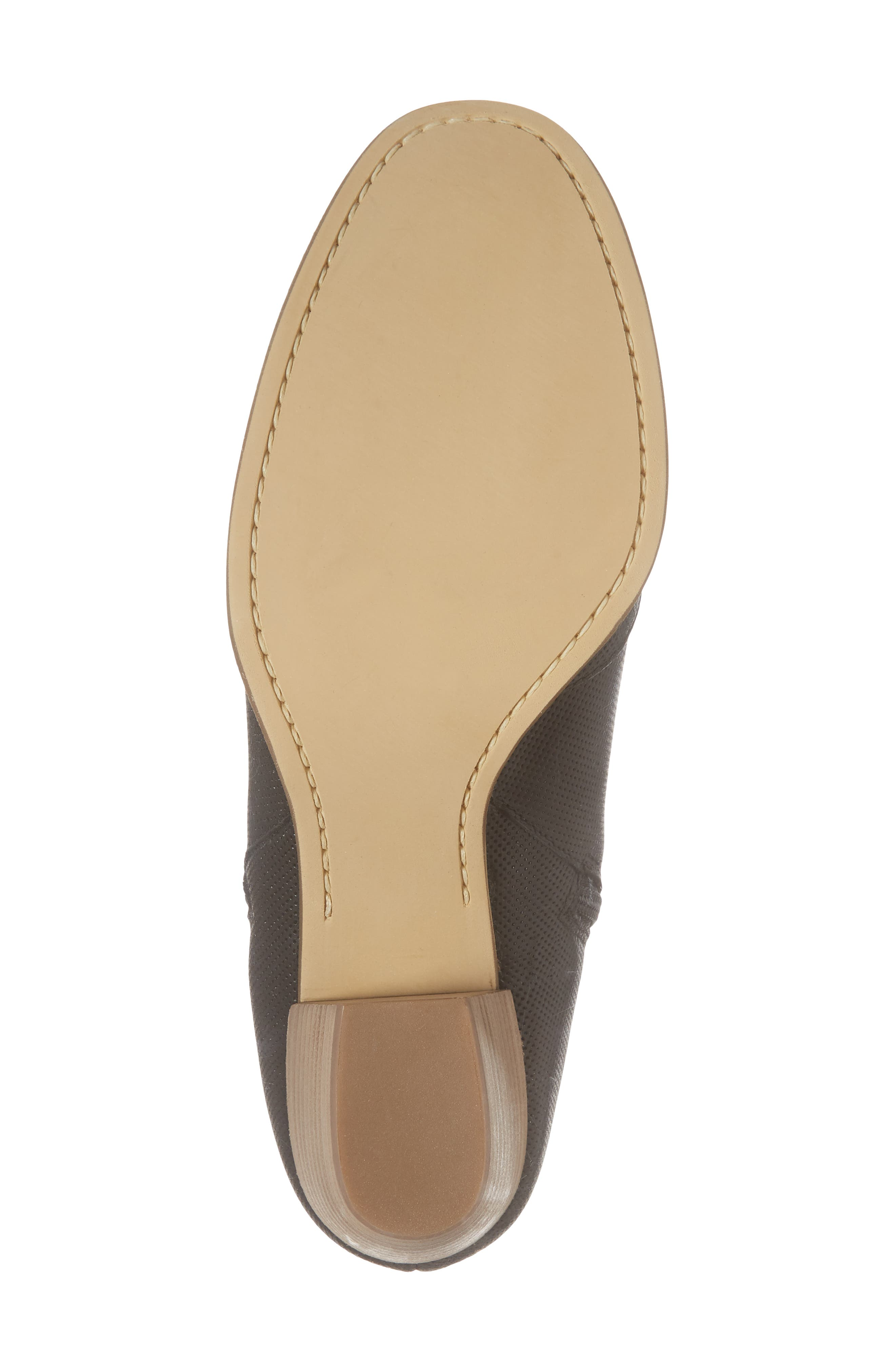Robin Bootie,                             Alternate thumbnail 6, color,                             BLACK LEATHER