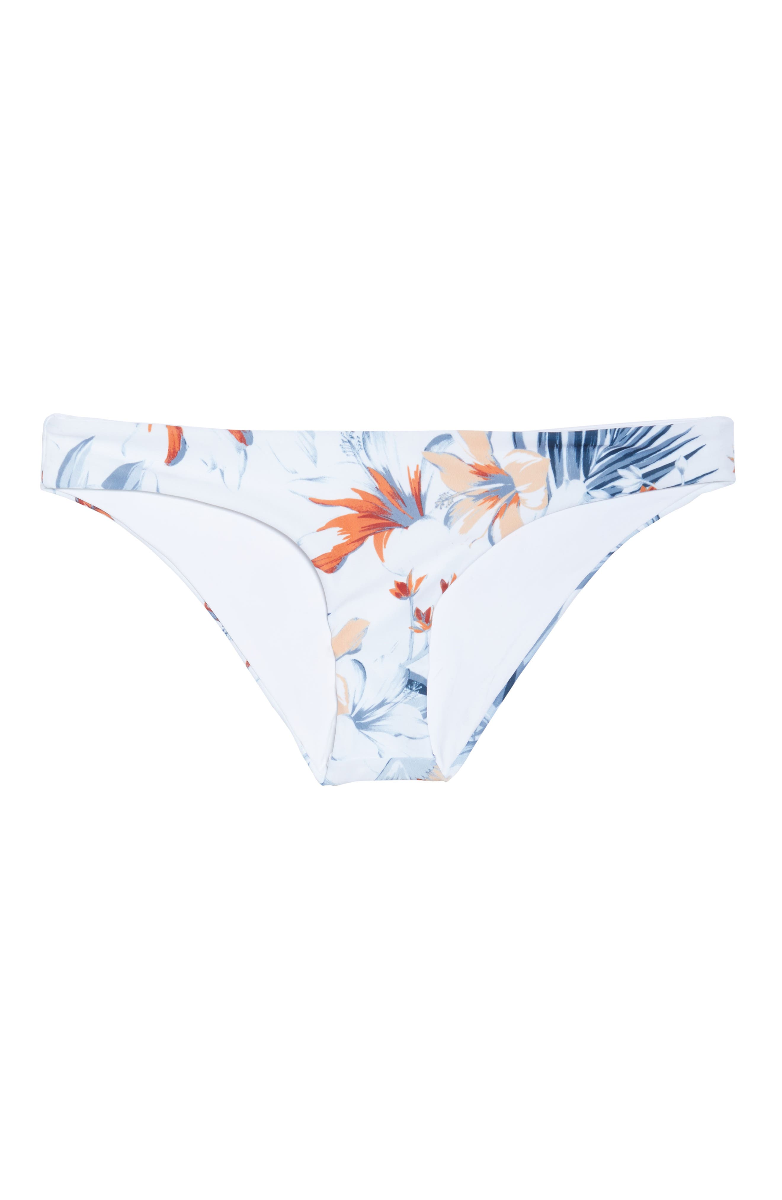 Sandy Classic Bikini Bottoms,                             Alternate thumbnail 6, color,                             BIRD OF PARADISE