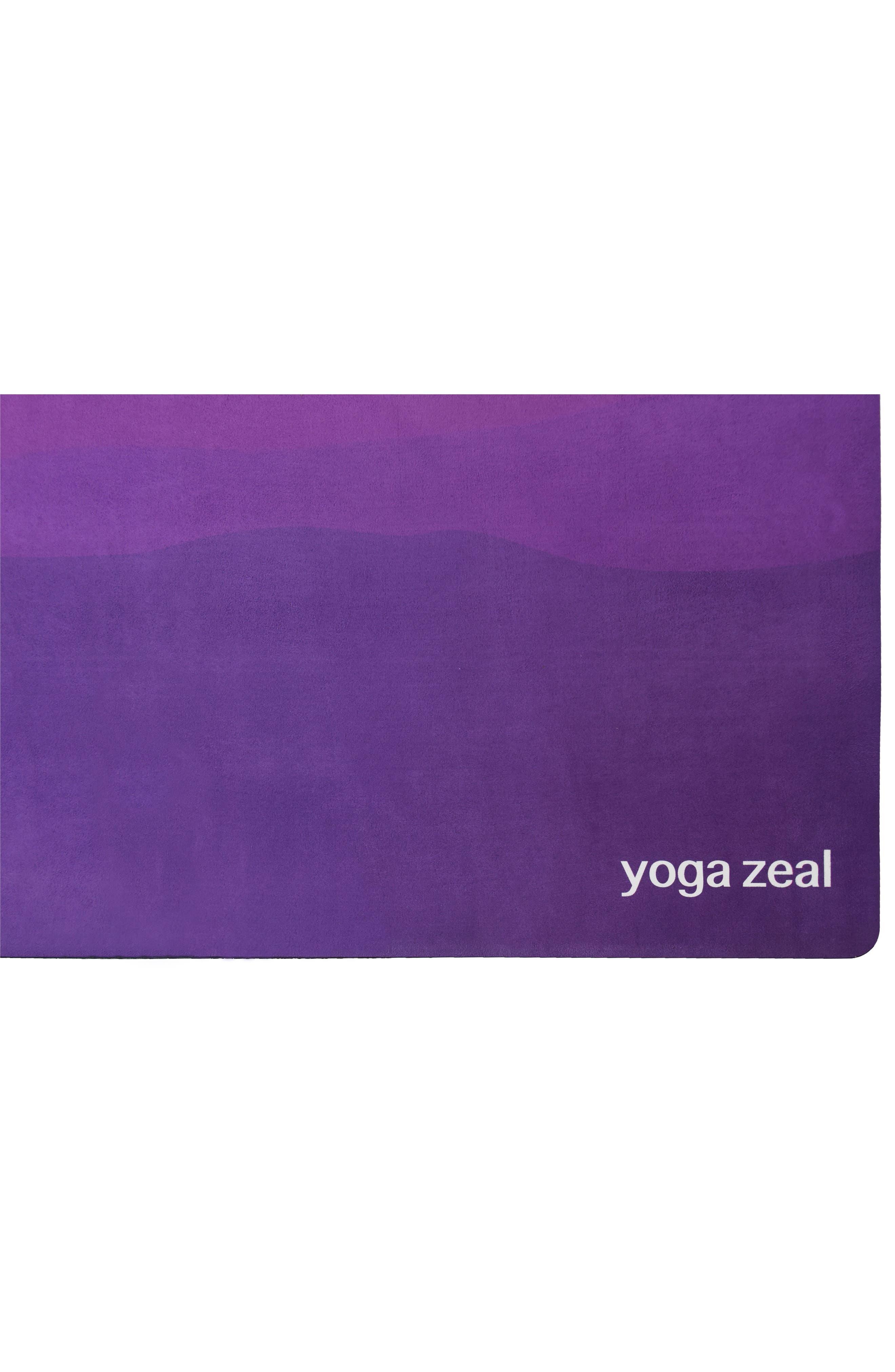 Moon Sunrise Print Yoga Mat,                             Alternate thumbnail 2, color,