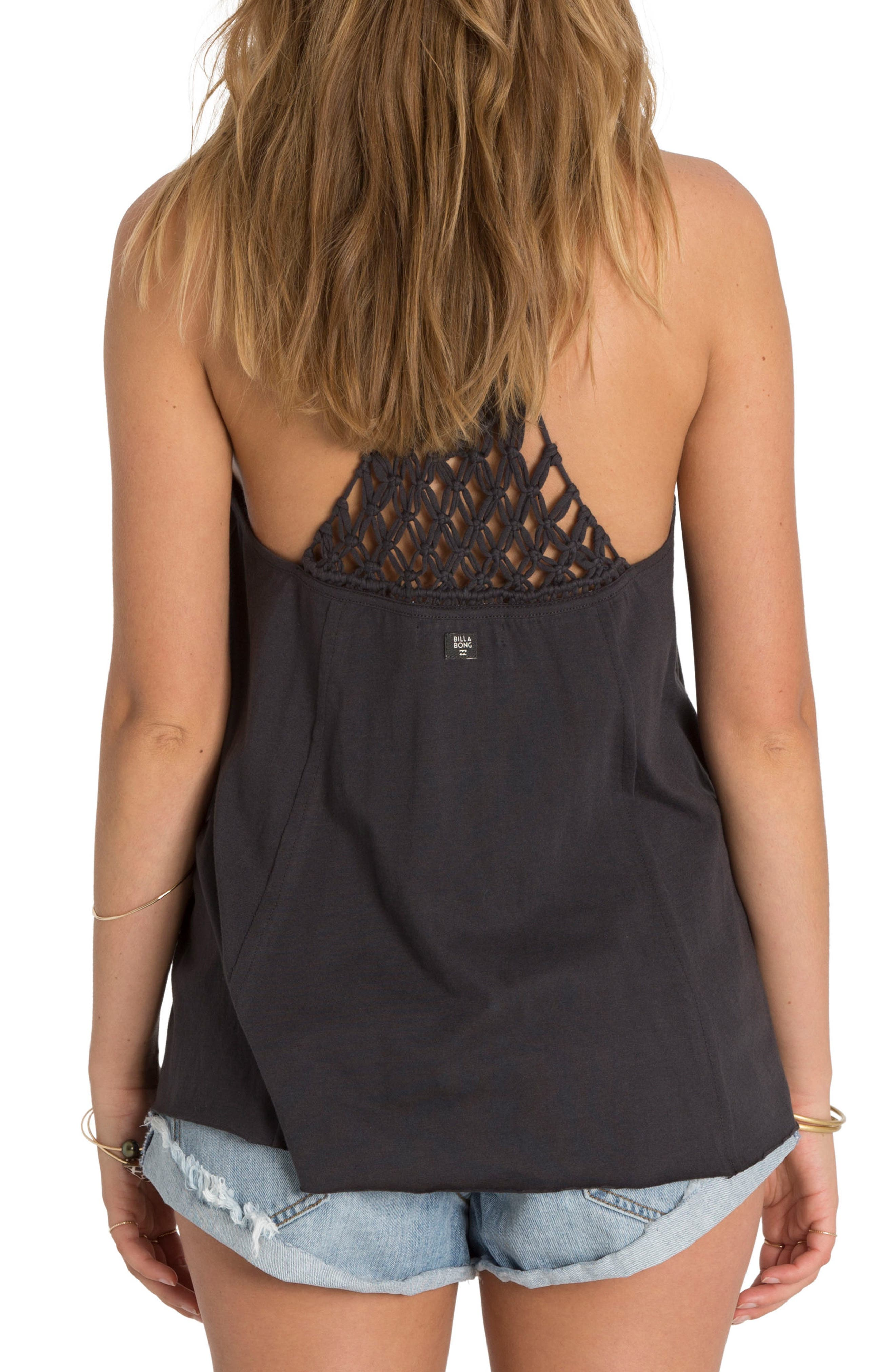 Knotted Neckline Tank,                             Main thumbnail 1, color,                             001