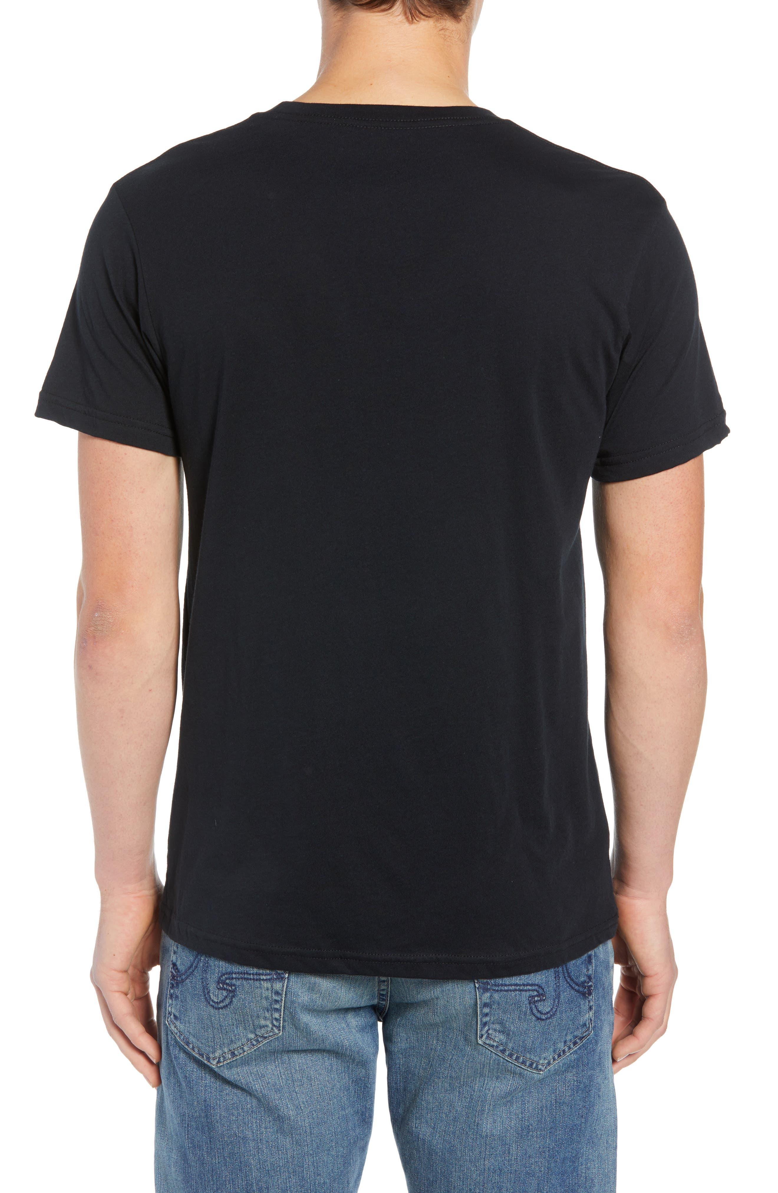 Tube Trekker Organic Cotton T-Shirt,                             Alternate thumbnail 2, color,                             BLACK