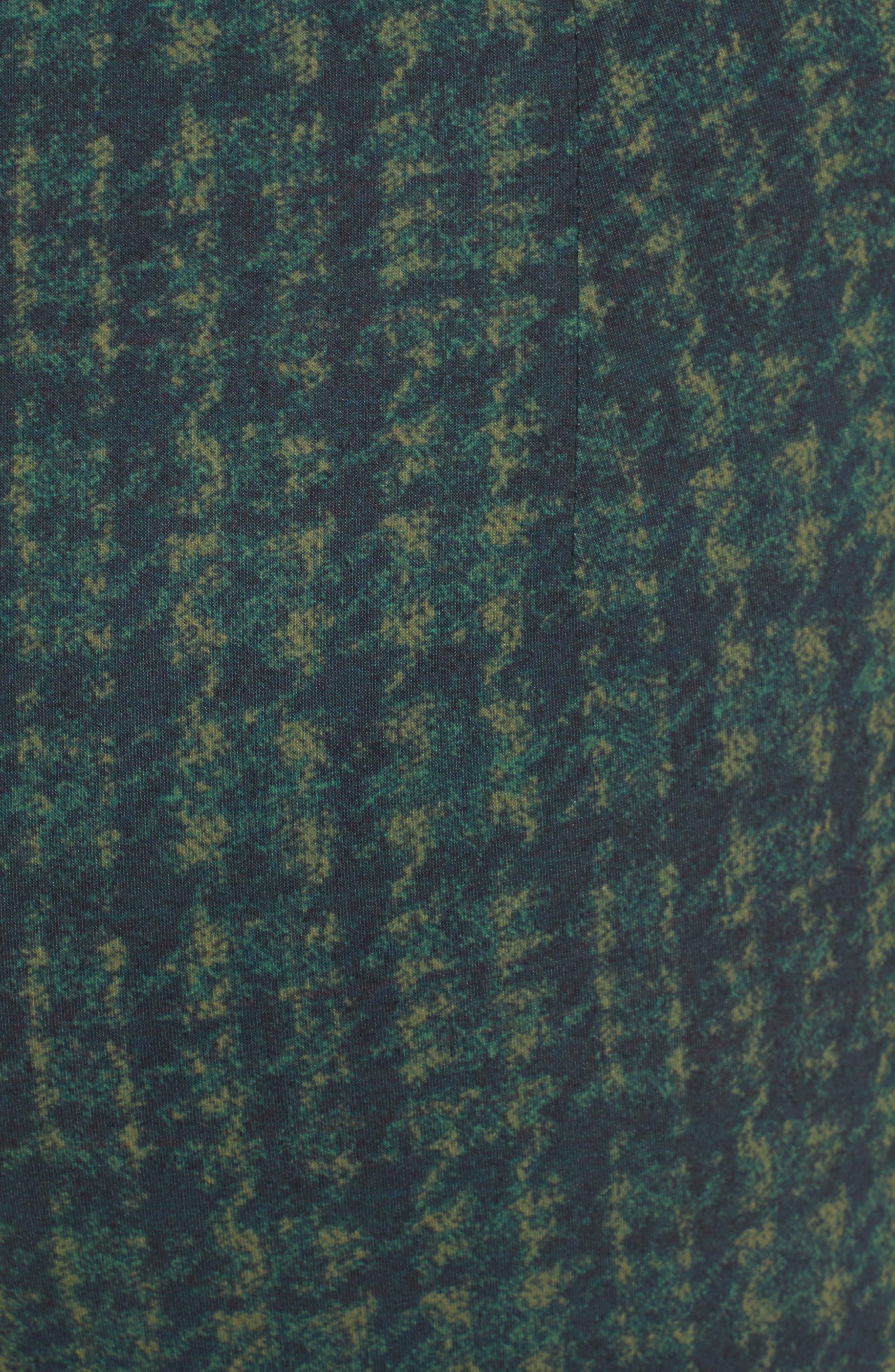 Adbelle Plaid Stretch Legging,                             Alternate thumbnail 5, color,