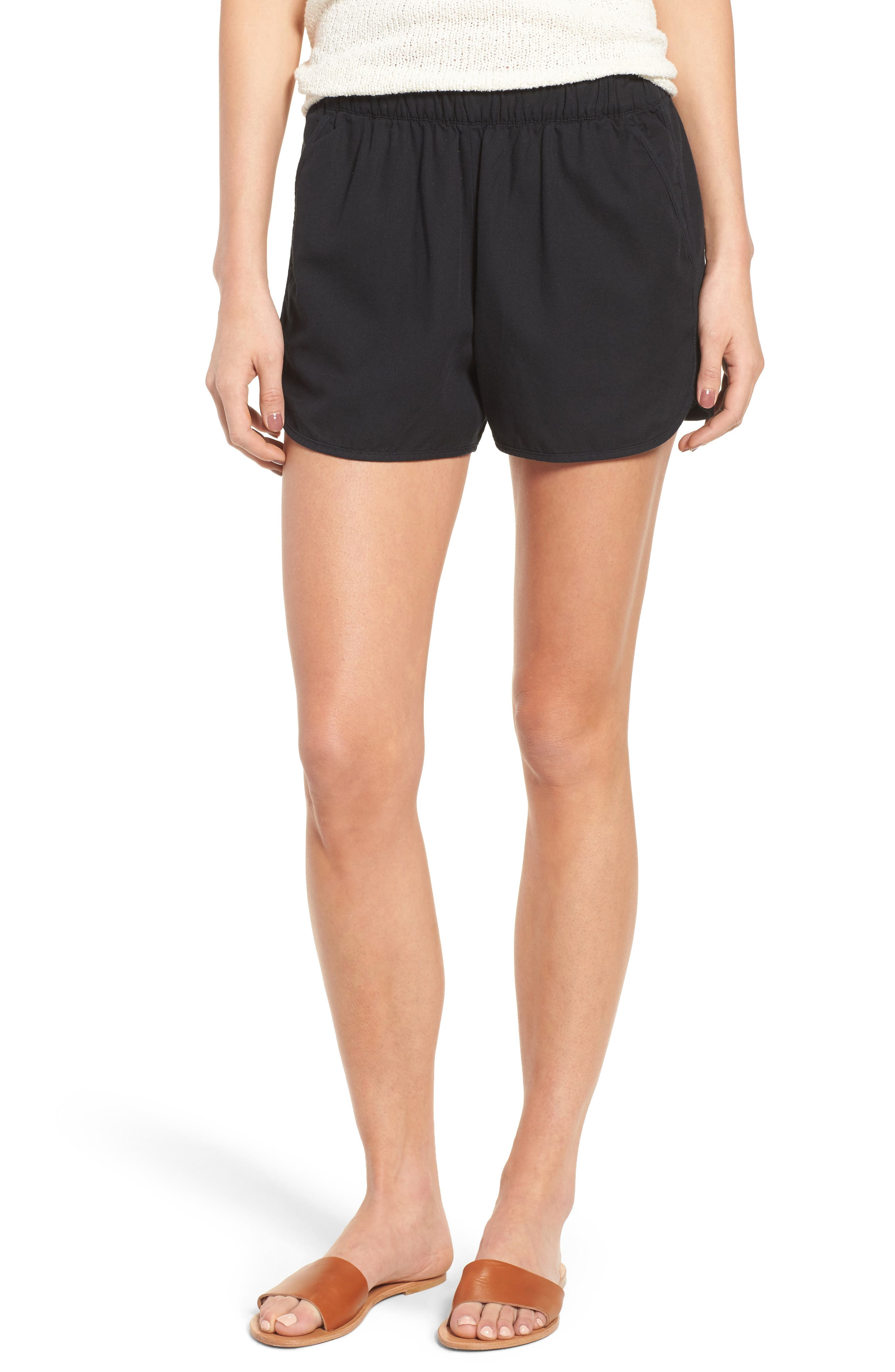MADEWELL Pull-On Shorts, Main, color, 001
