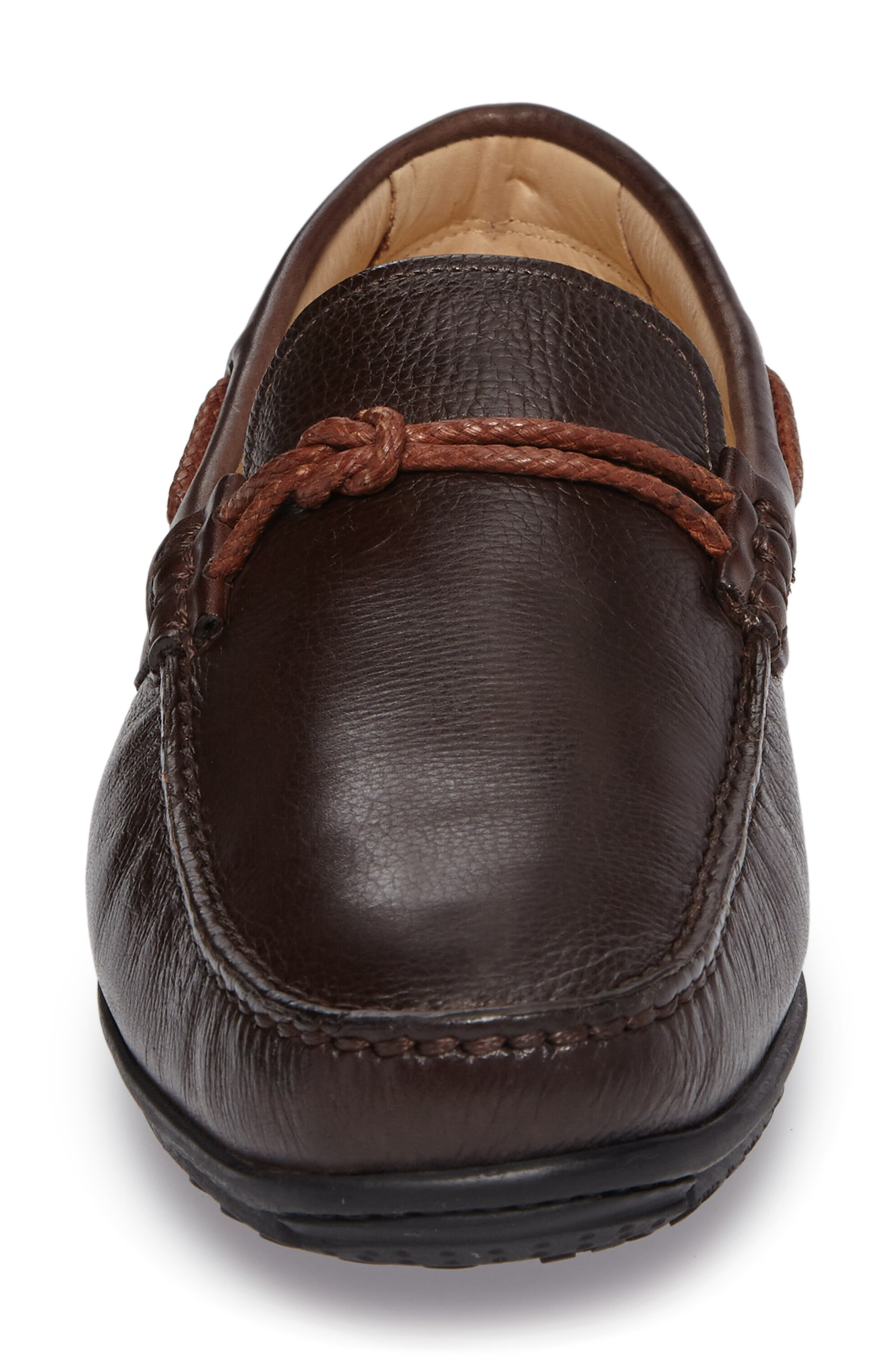 Itapira Driving Shoe,                             Alternate thumbnail 4, color,                             FLOATER/ TOUCH BROWN