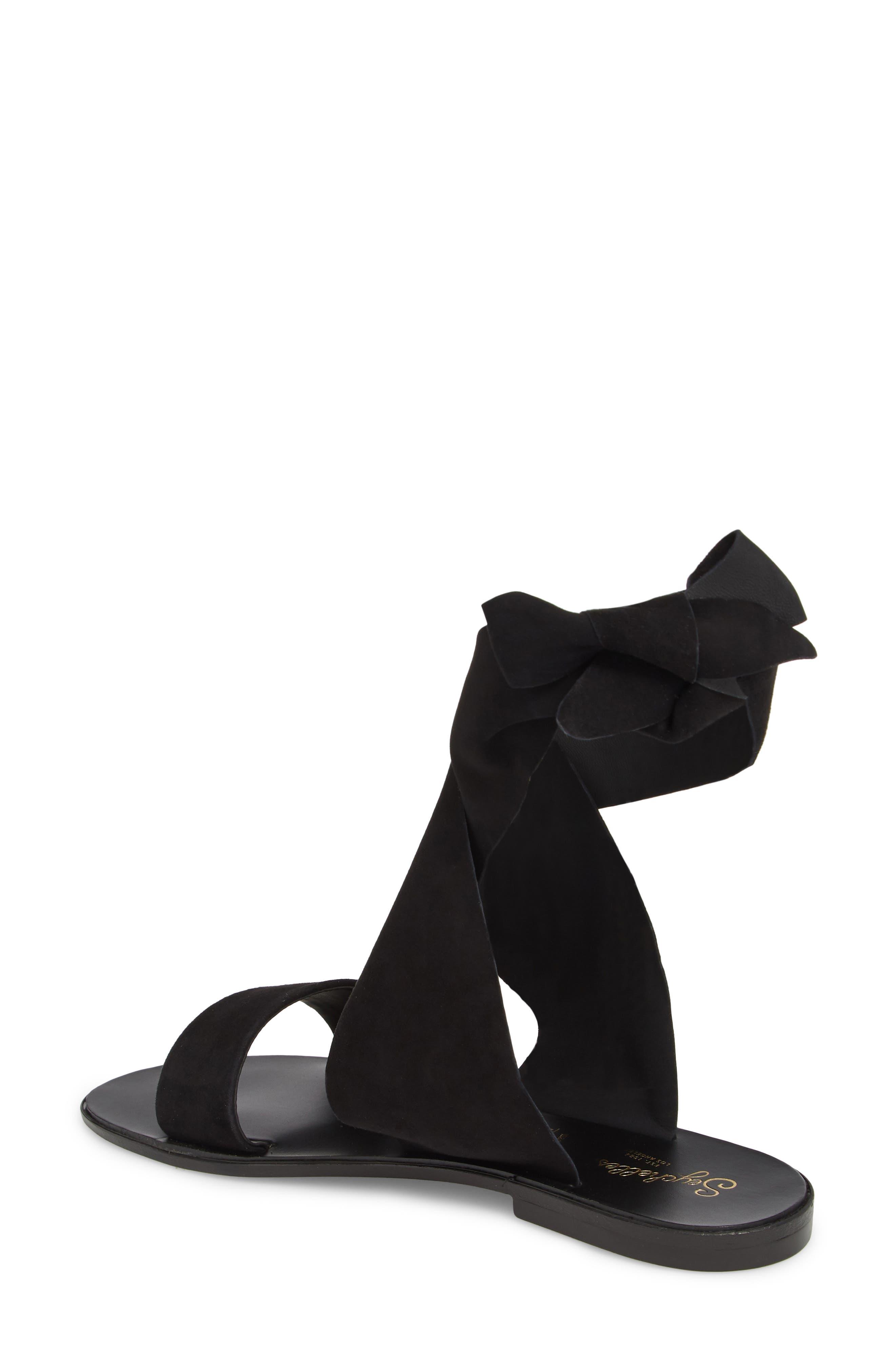 Cruisin Ankle Wrap Sandal,                             Alternate thumbnail 2, color,                             001