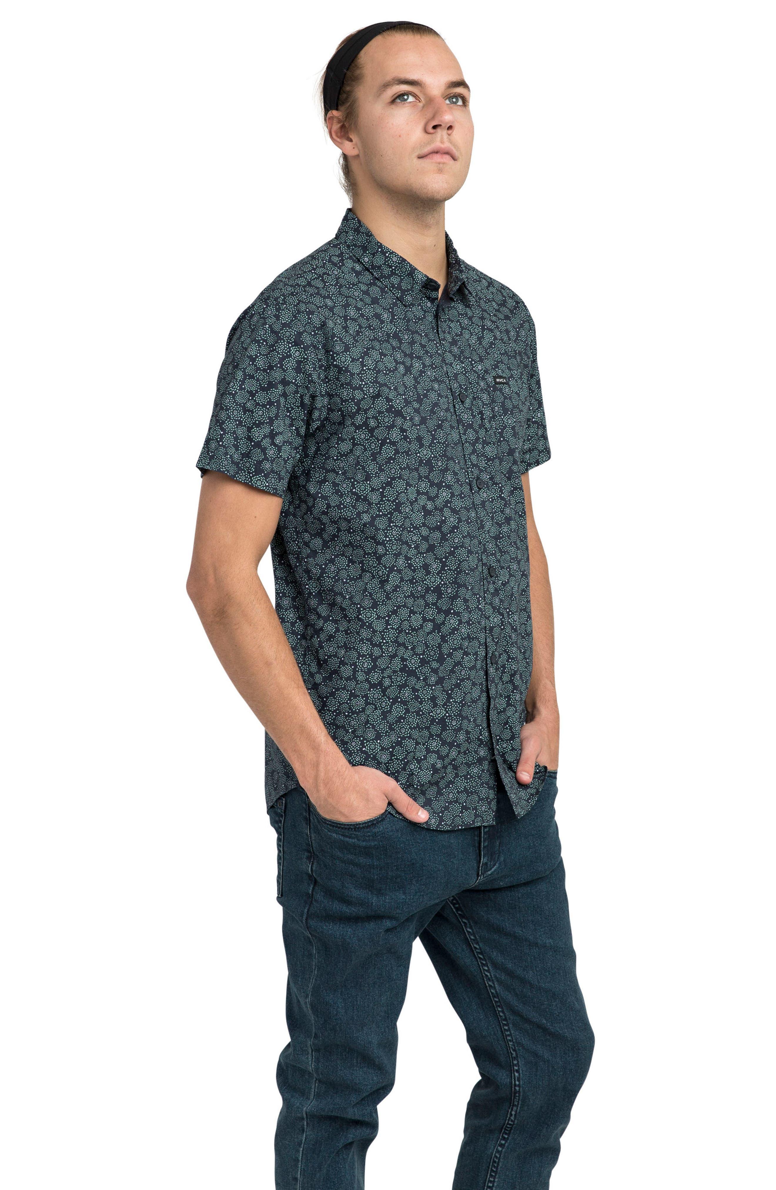 Cleta Woven Shirt,                             Alternate thumbnail 3, color,                             415