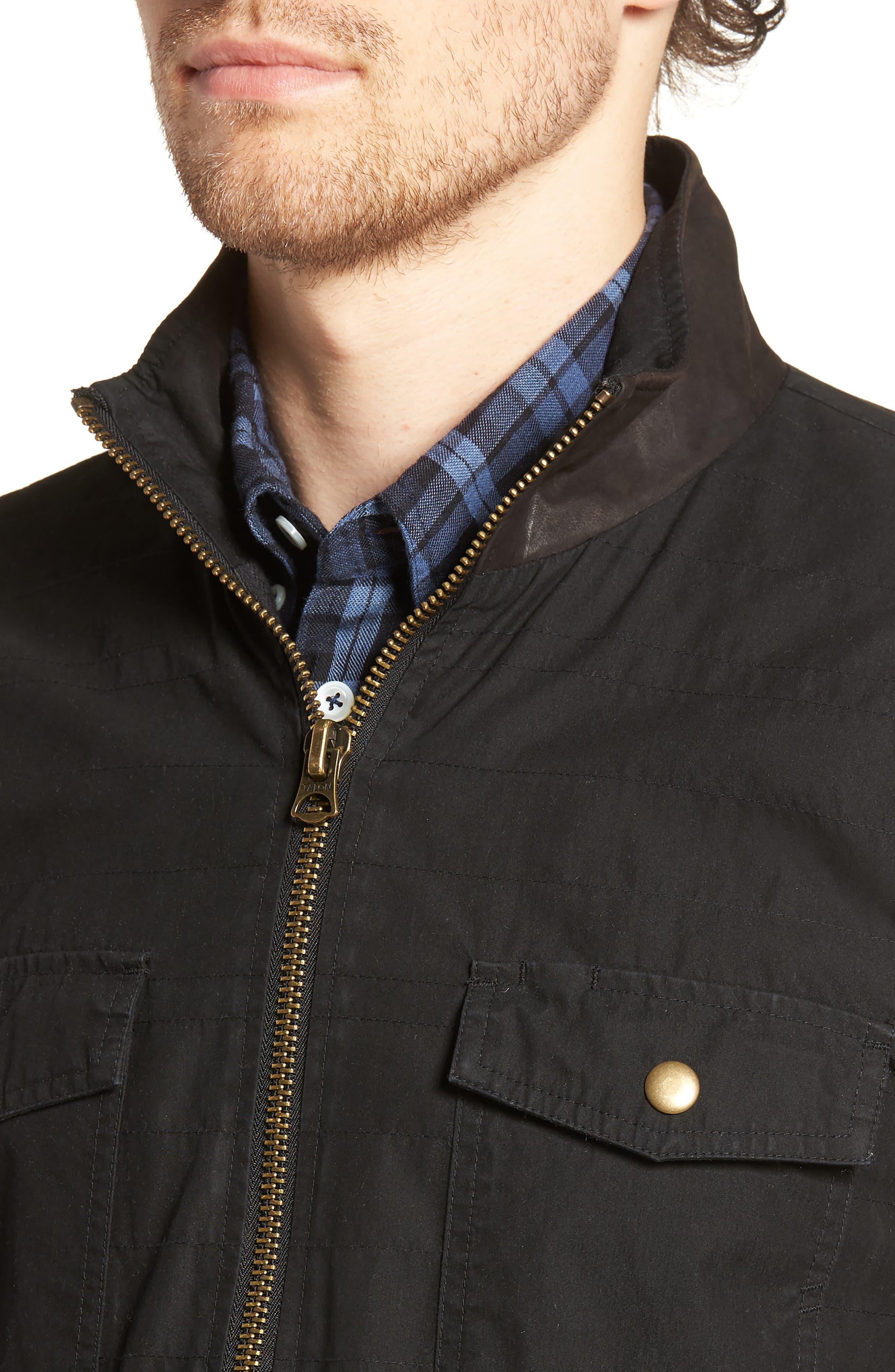 Standard Fit Shirt Jacket,                             Alternate thumbnail 4, color,                             001