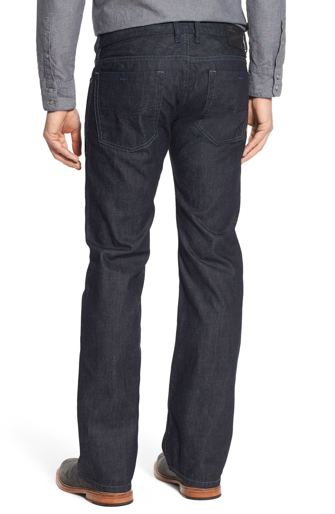 Zatiny Bootcut Jeans,                             Alternate thumbnail 2, color,                             THE BLUE BARON