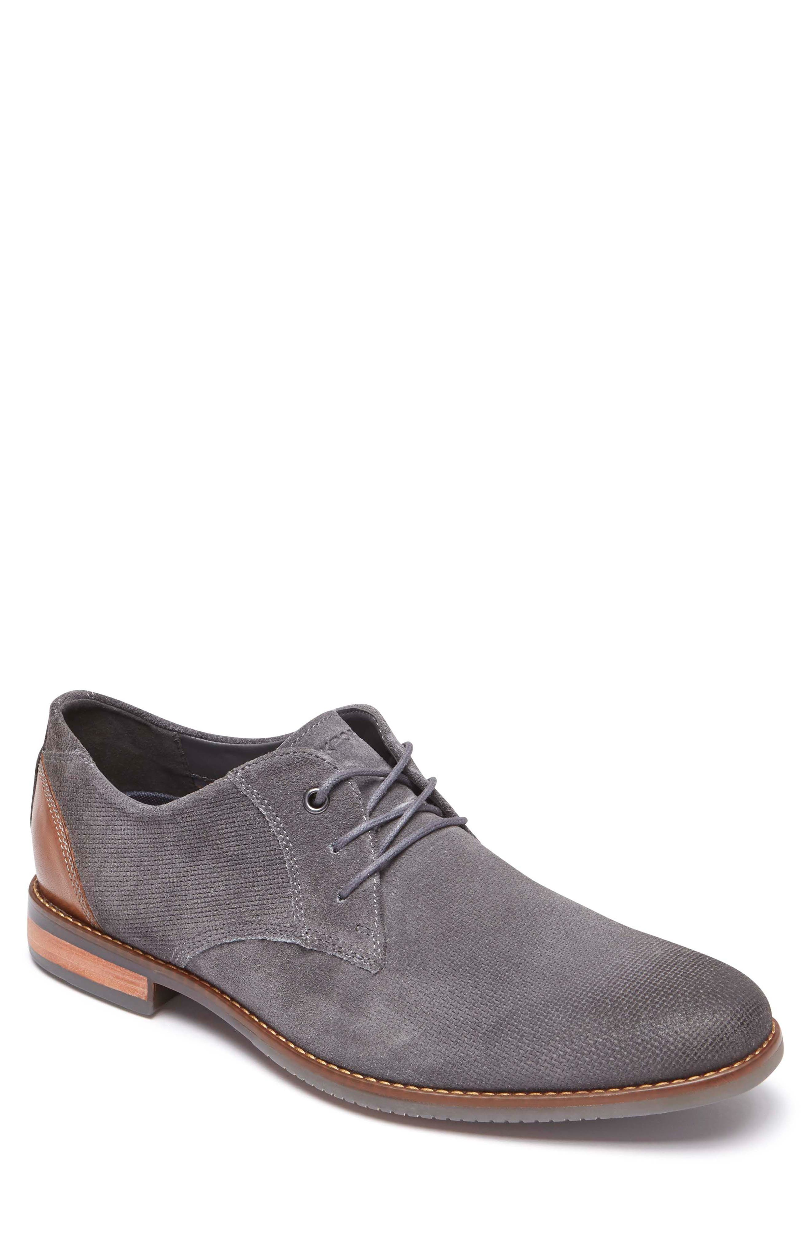 Style Purpose Plain Toe Derby,                             Main thumbnail 1, color,                             020