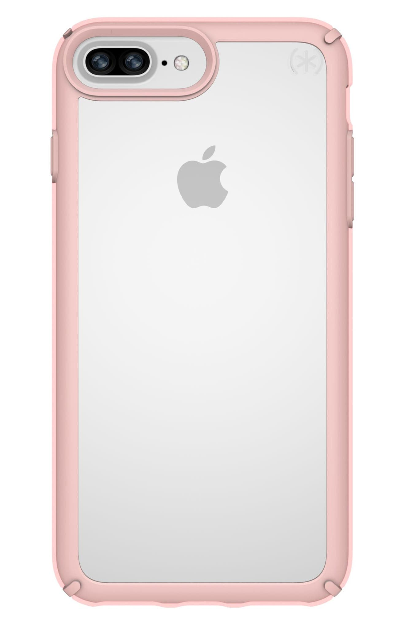 iPhone 6/6s/7/8 Plus Case,                             Main thumbnail 1, color,                             CLEAR/ ROSE GOLD