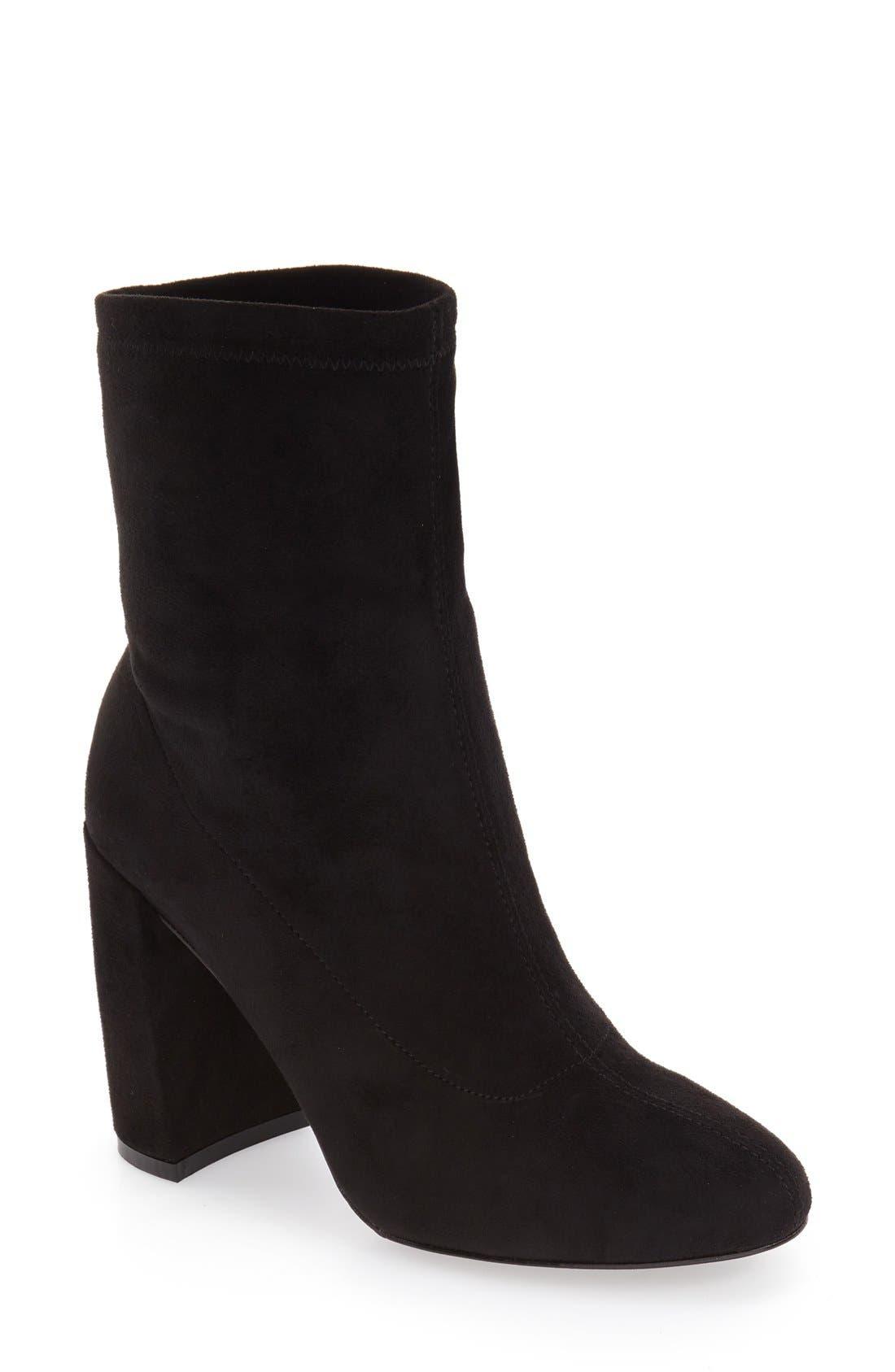 'Lilianna' Block Heel Bootie, Main, color, 002