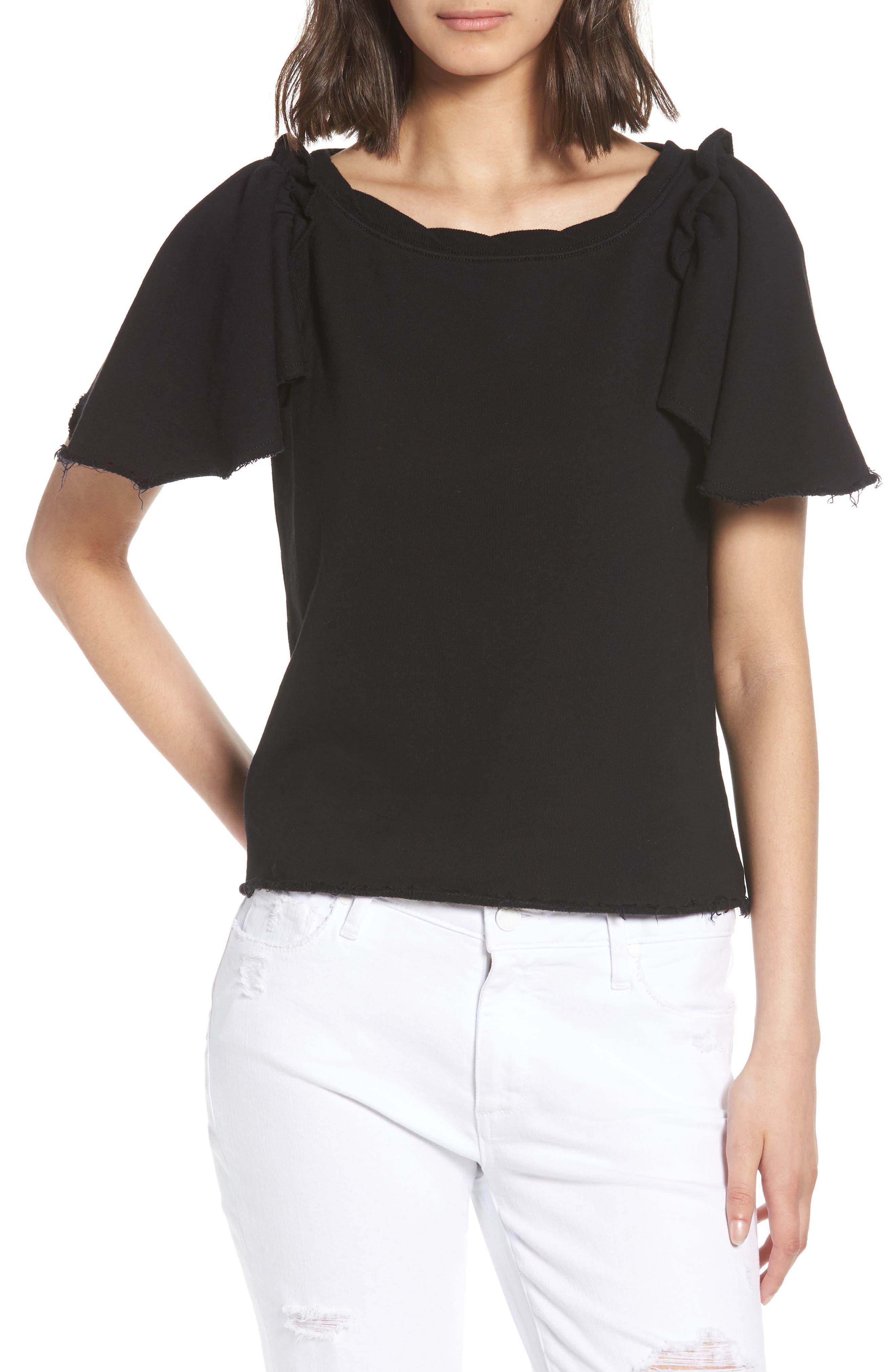 Shrunken Sweatshirt,                         Main,                         color, 001