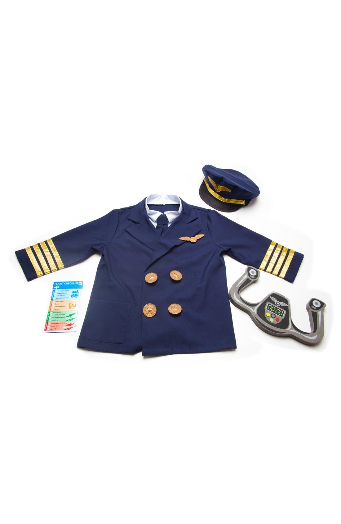 Pilot Role Play Set,                             Alternate thumbnail 2, color,                             BLUE