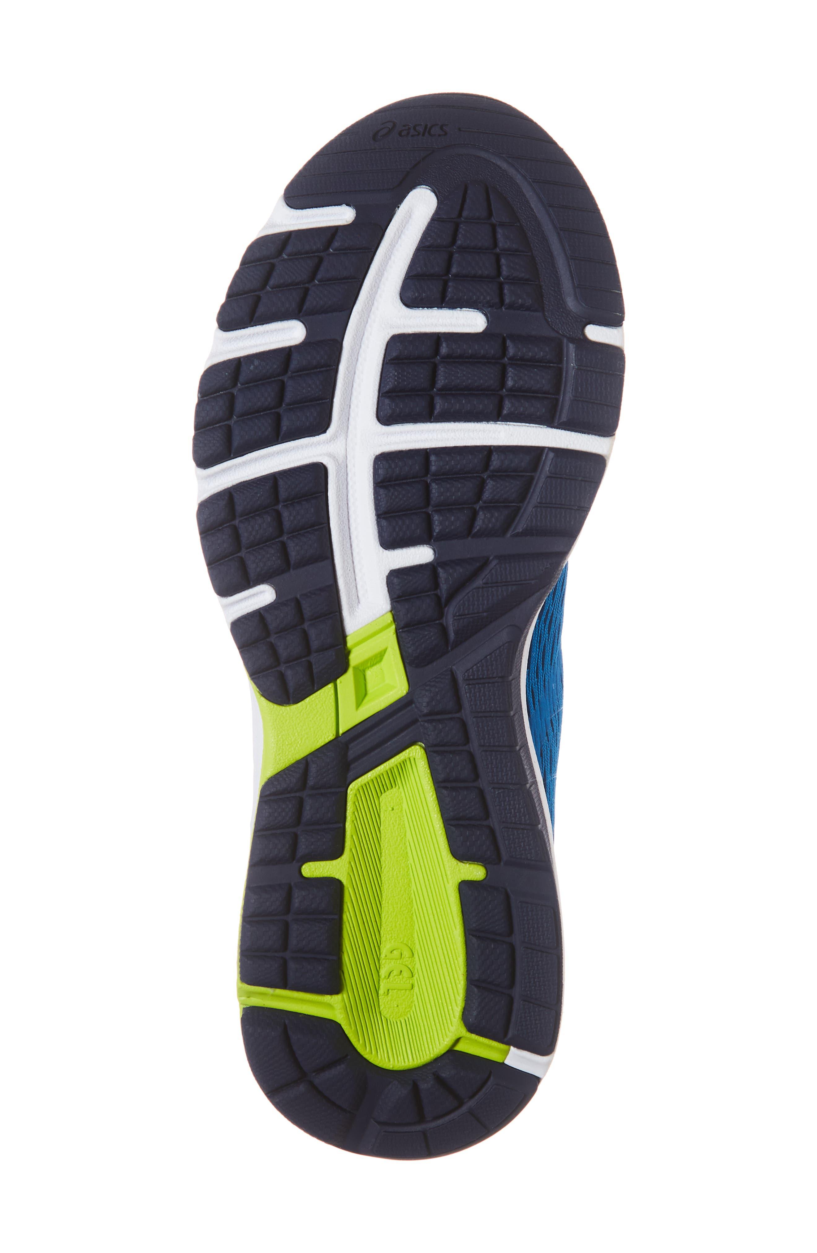 GT 1000 7 Running Shoe,                             Alternate thumbnail 6, color,                             RACE BLUE/ NEON LIME