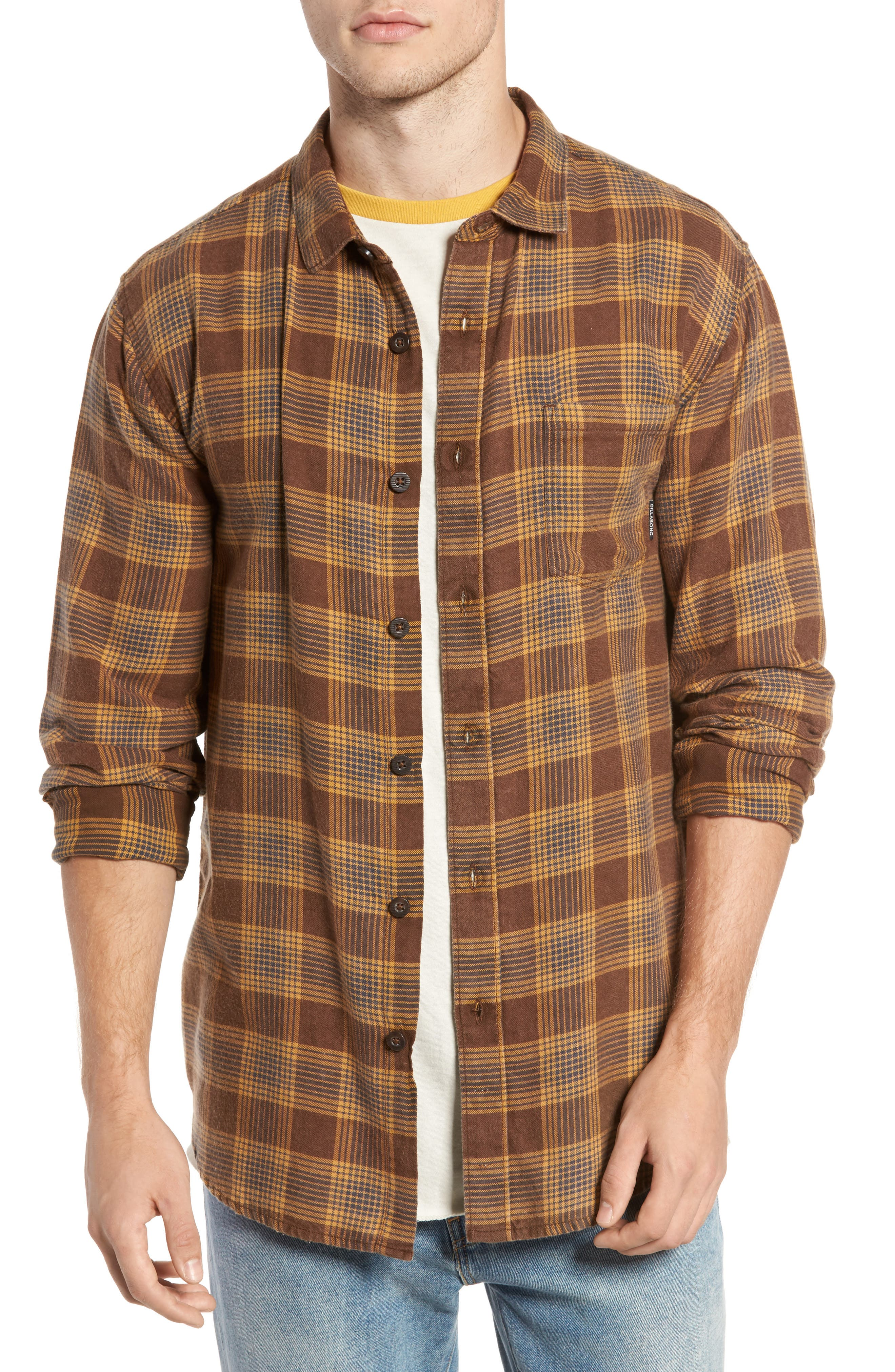 Freemont Flannel Shirt,                             Main thumbnail 1, color,                             205