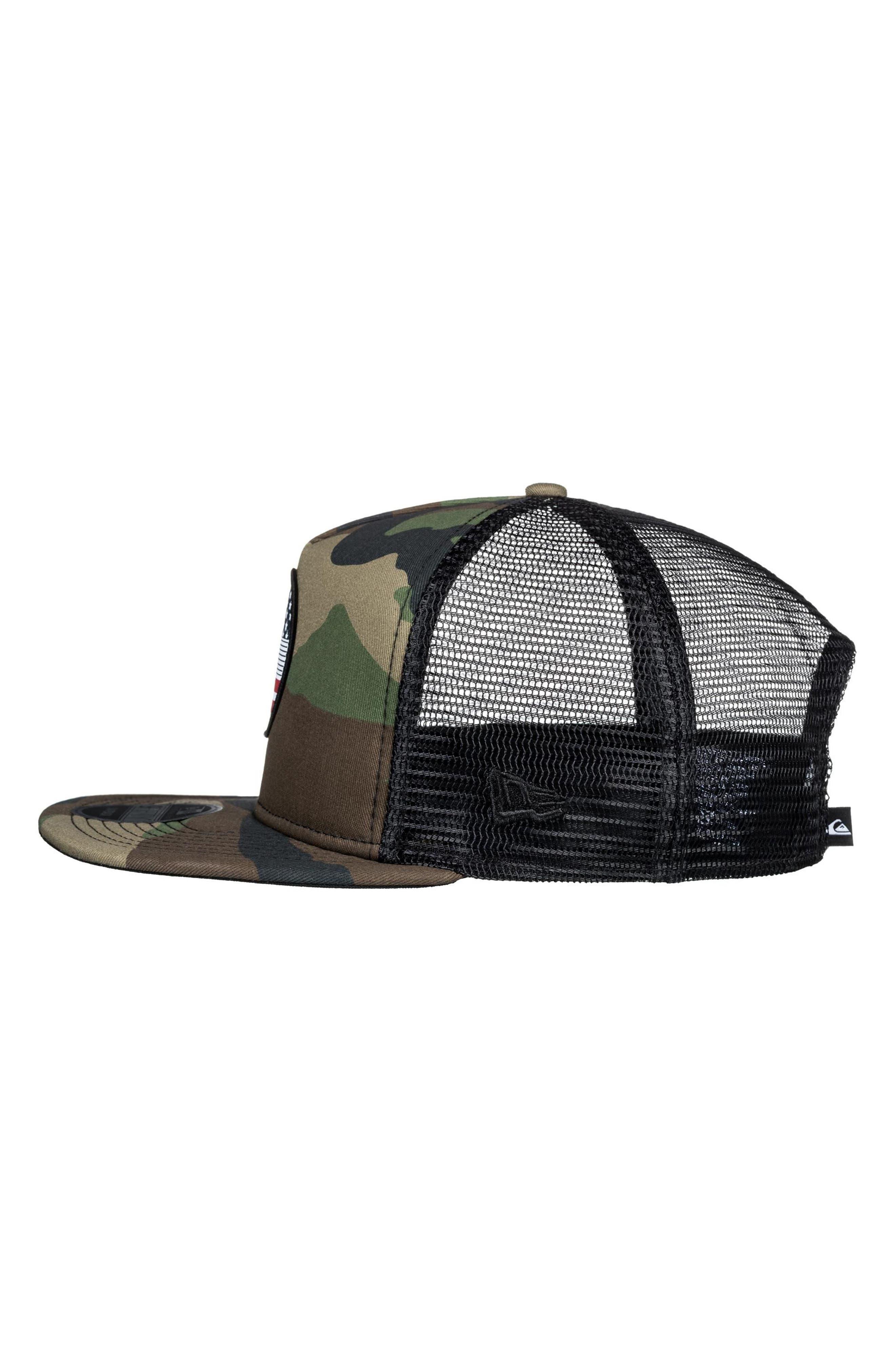 Flag Trucker Hat,                             Alternate thumbnail 8, color,