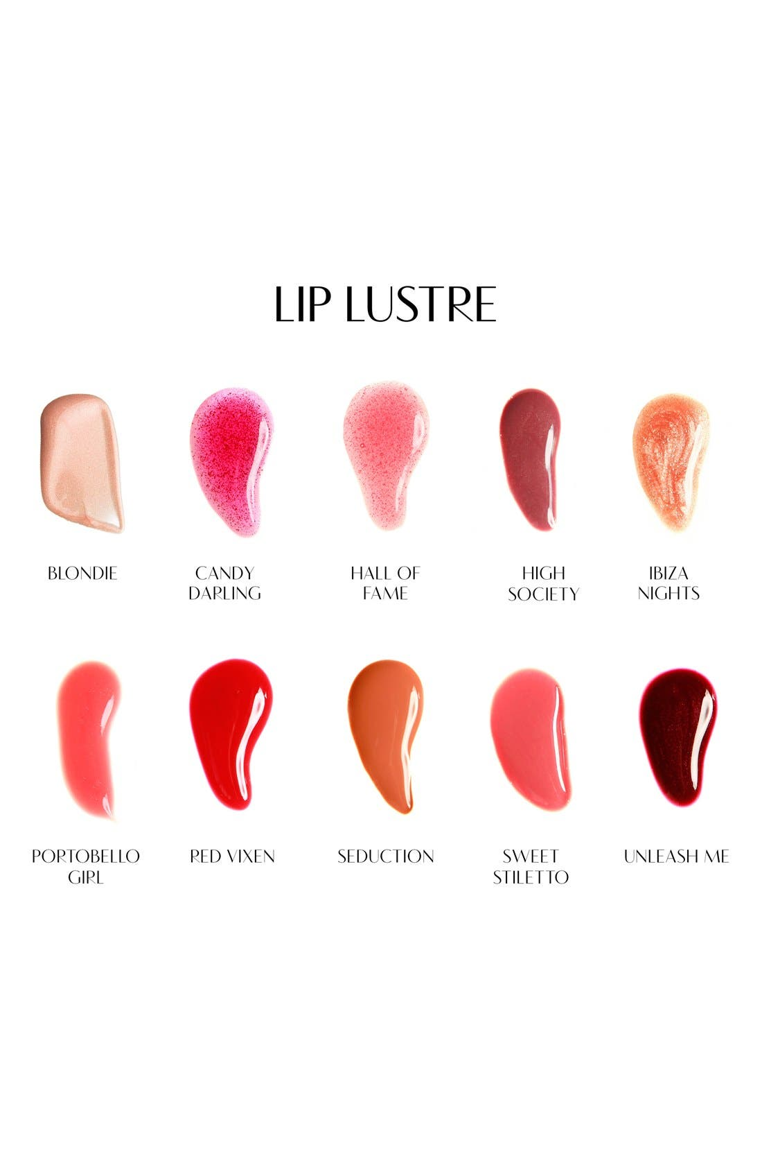 Lip Lustre Lip Gloss,                             Alternate thumbnail 4, color,                             HIGH SOCIETY
