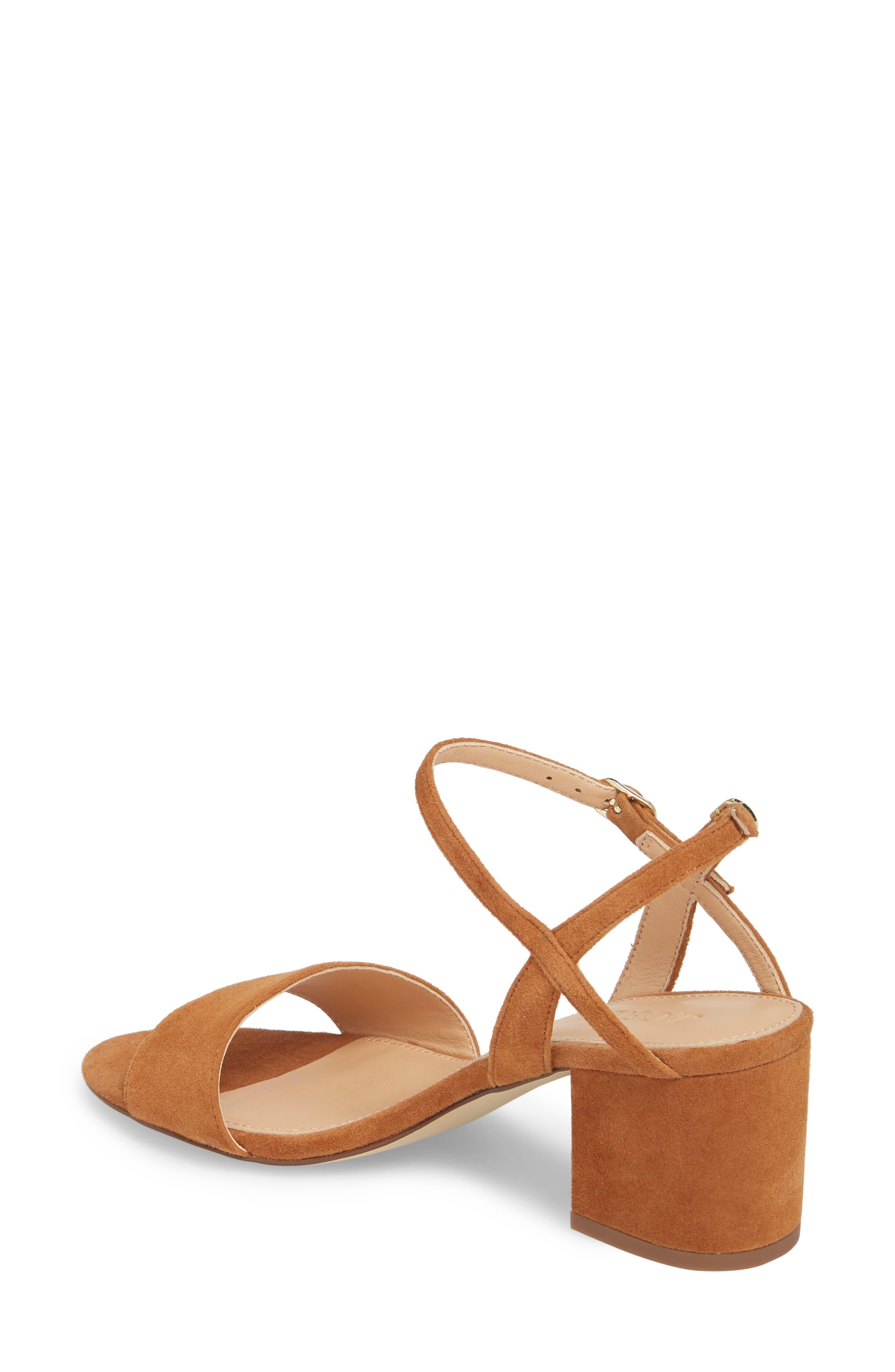 Strappy Block Heel Sandal,                             Alternate thumbnail 5, color,