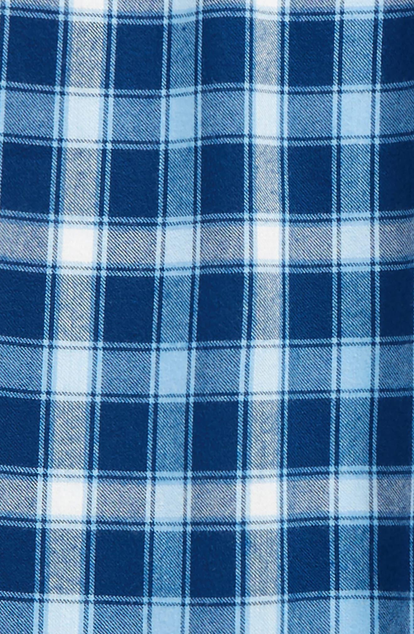 Plaid Flannel Pants,                             Alternate thumbnail 16, color,
