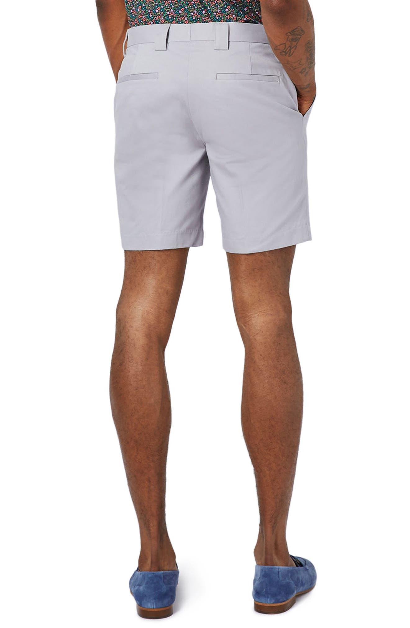 Twill Trouser Shorts,                             Alternate thumbnail 2, color,                             020