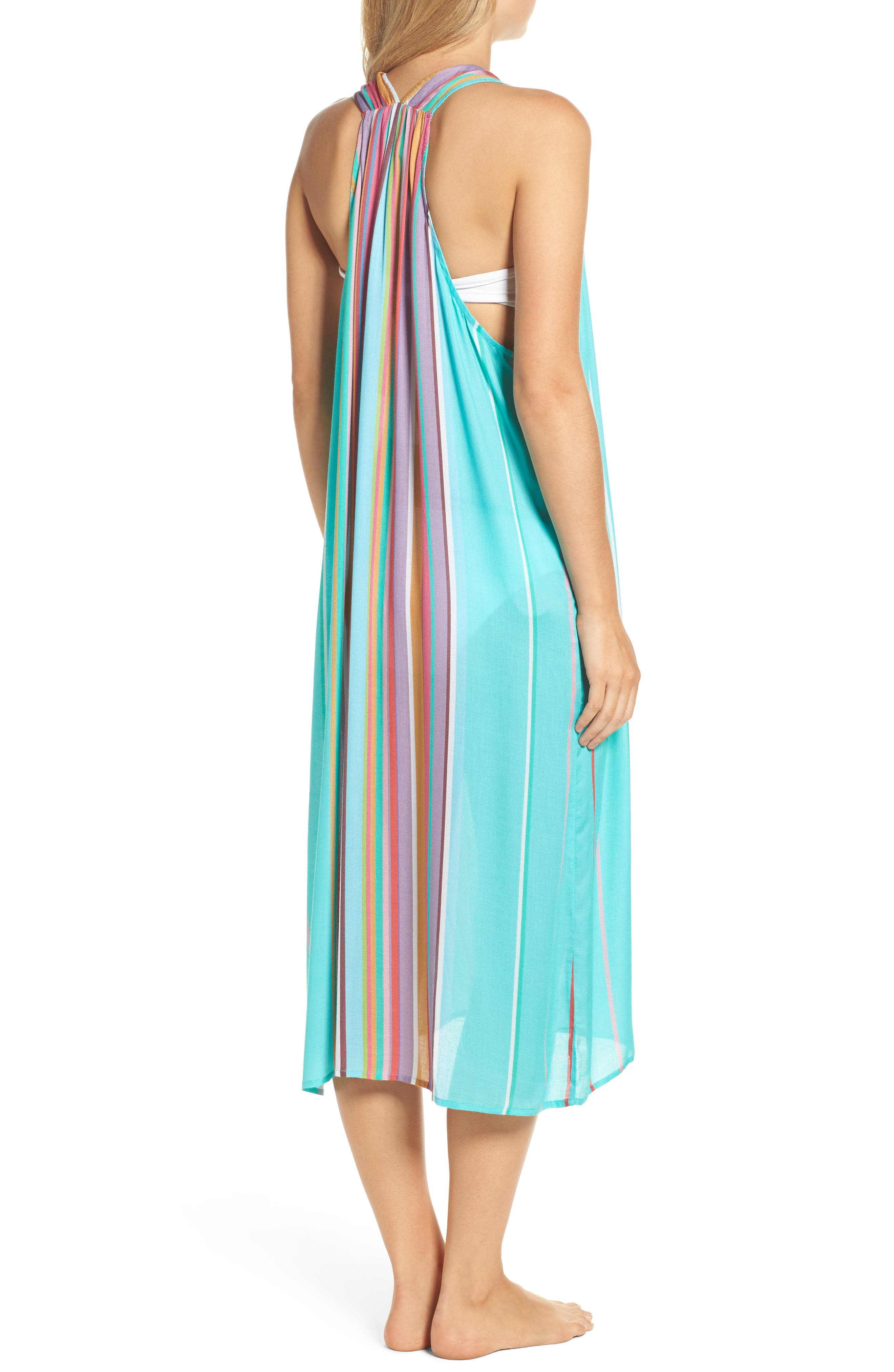 Sayulita Midi Vest Cover-Up,                             Alternate thumbnail 2, color,                             440