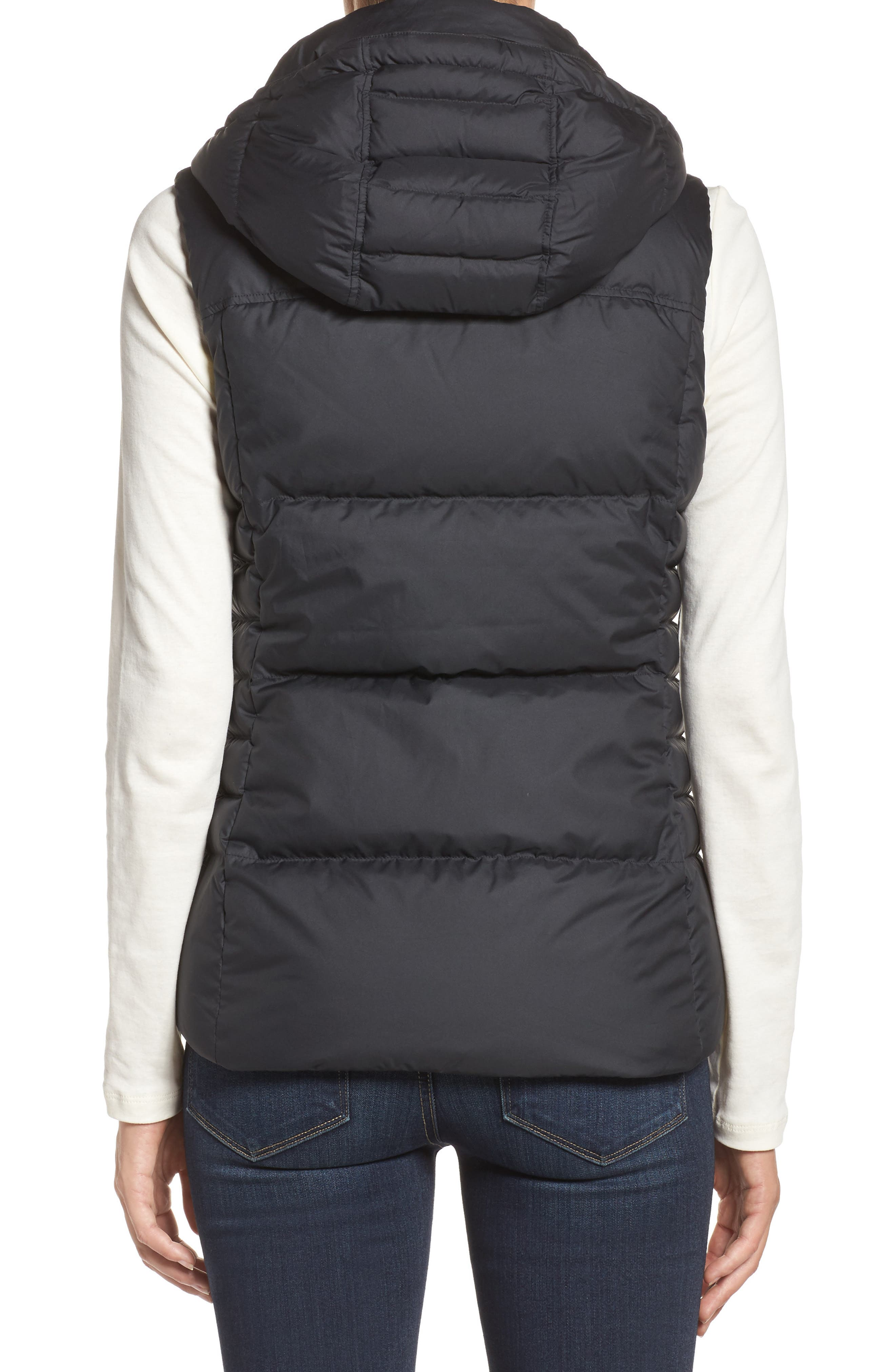 Down with It Hooded Down Vest,                             Alternate thumbnail 2, color,                             001
