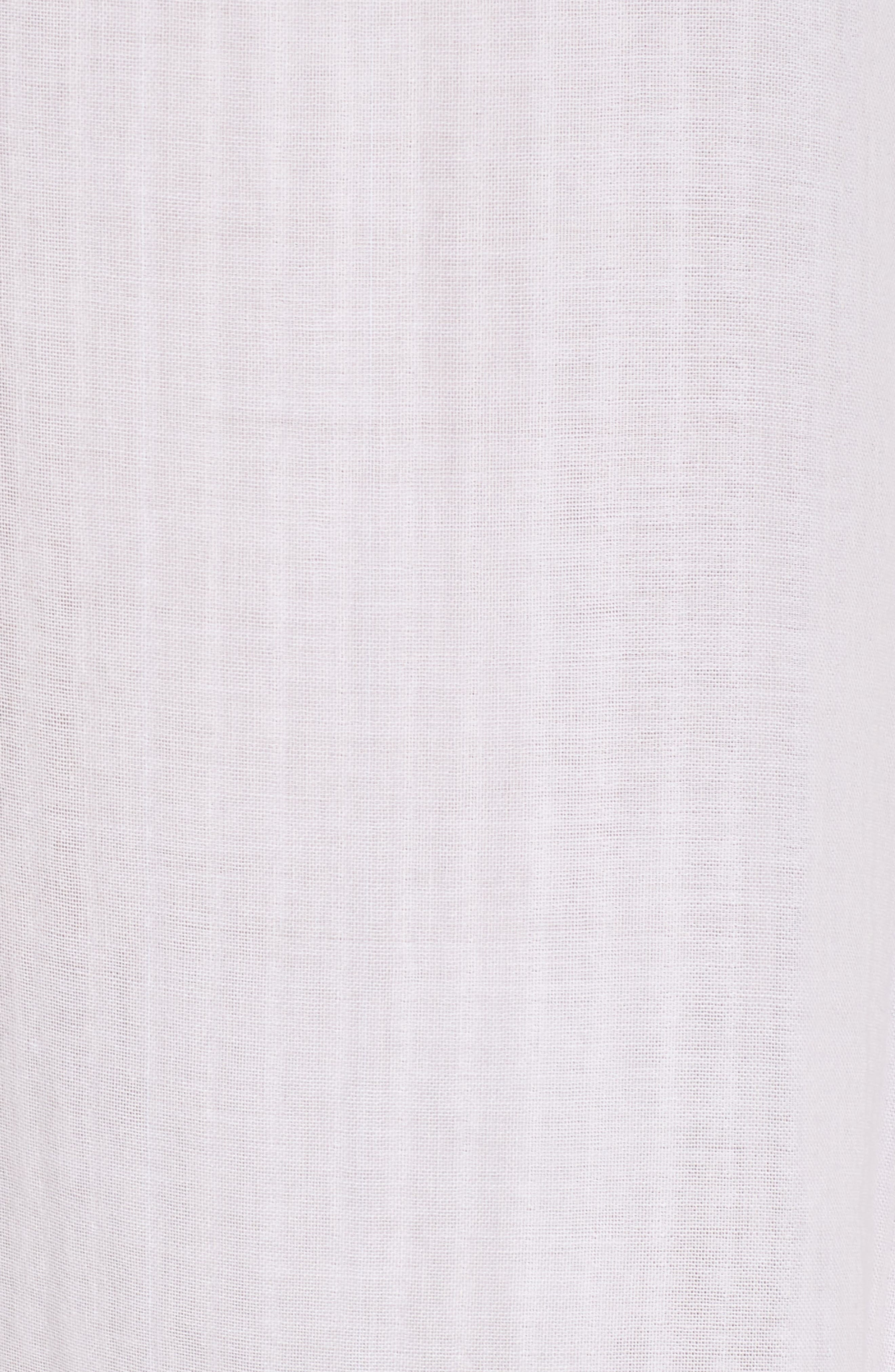 Basic Stripe Nightgown,                             Alternate thumbnail 5, color,                             110