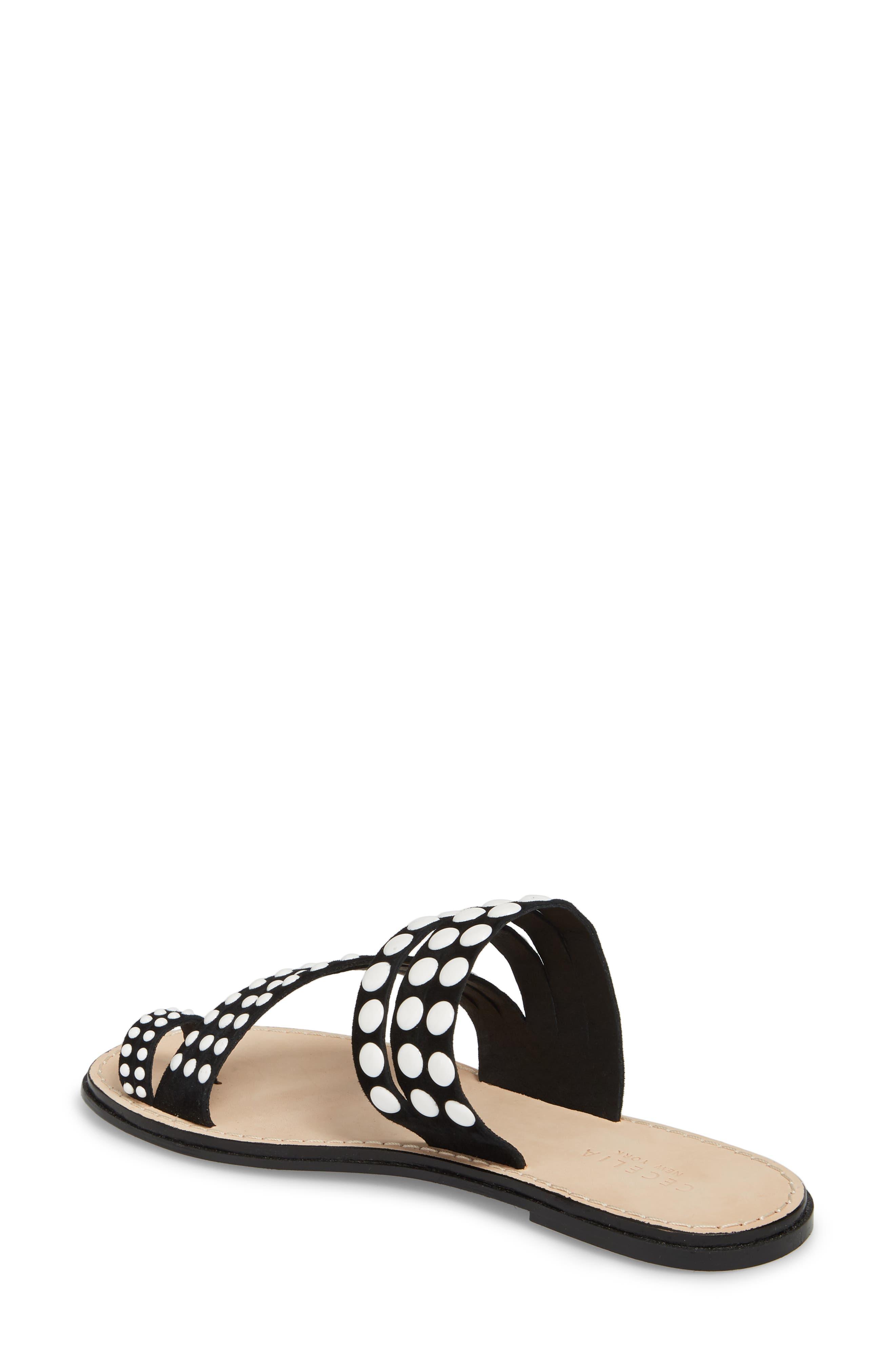Pezz Studded Sandal,                             Alternate thumbnail 2, color,                             001