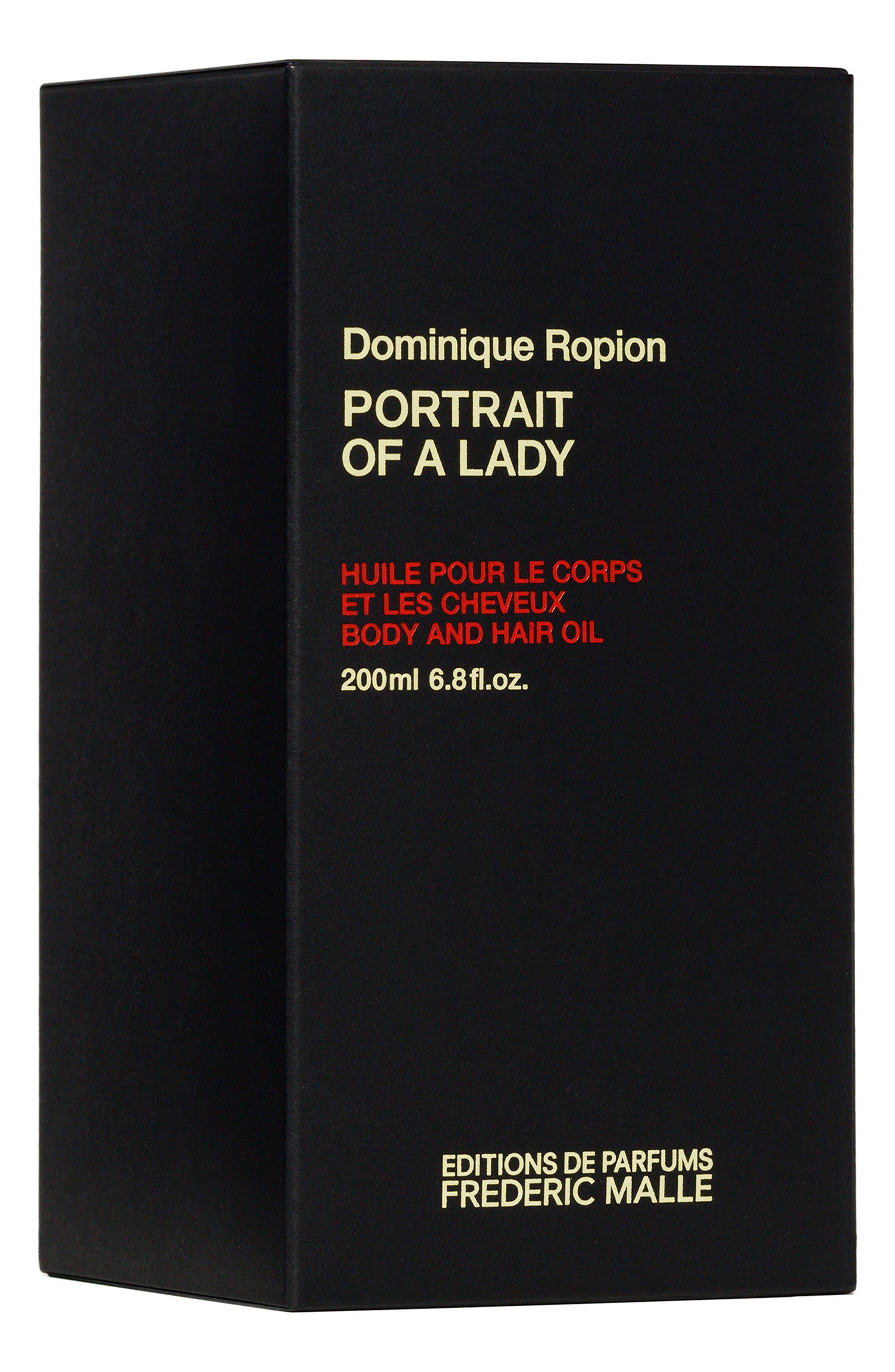 FREDERIC MALLE,                             Editions de Parfums Frédéric Malle Portrait of a Lady Parfum Hair & Body Oil,                             Alternate thumbnail 2, color,                             NO COLOR