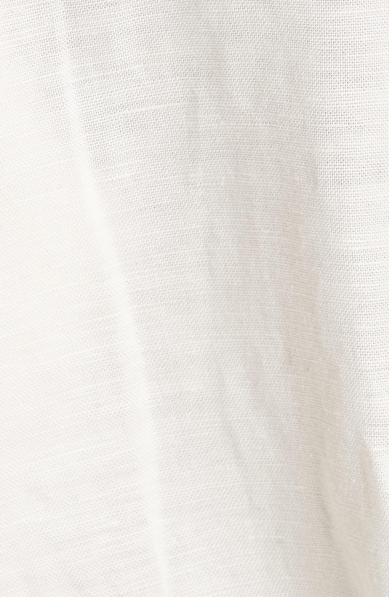 Shining Sun Tie Front Jumpsuit,                             Alternate thumbnail 5, color,                             903